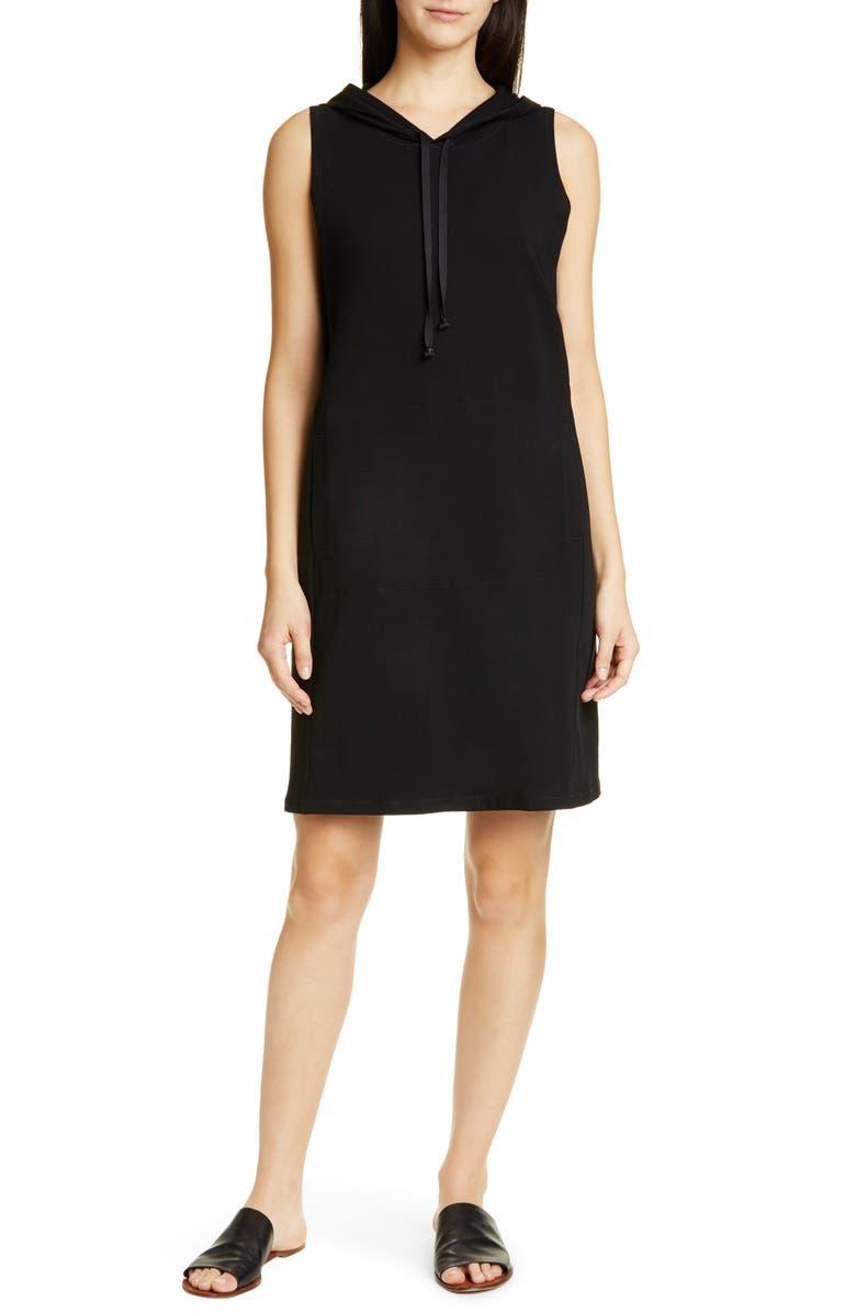 Eileen Fisher Dresses HOODED SLEEVELESS DRESS