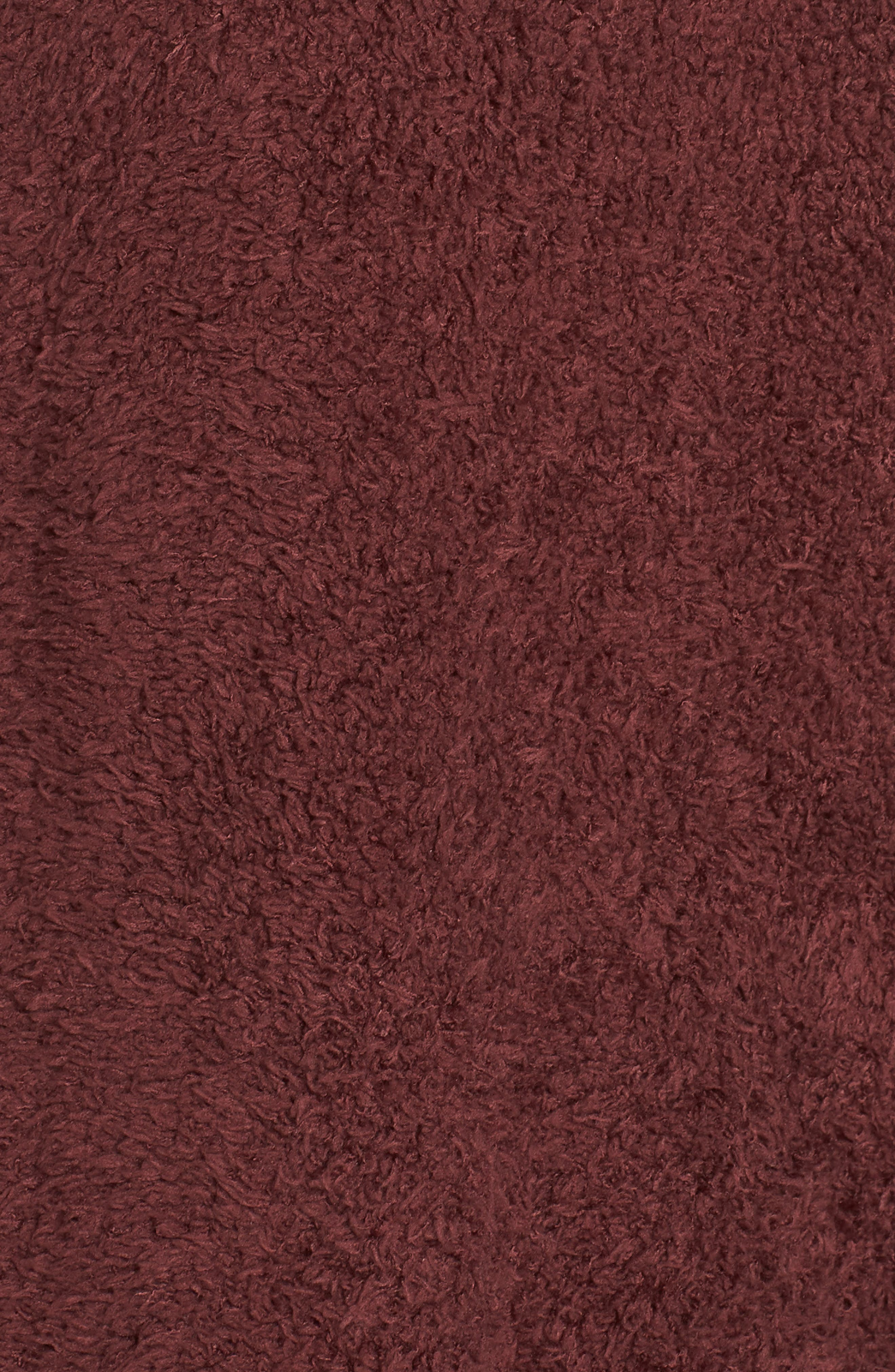 BAREFOOT DREAMS<SUP>®</SUP>, CozyChic<sup>®</sup> Cardigan, Alternate thumbnail 5, color, ROSEWOOD