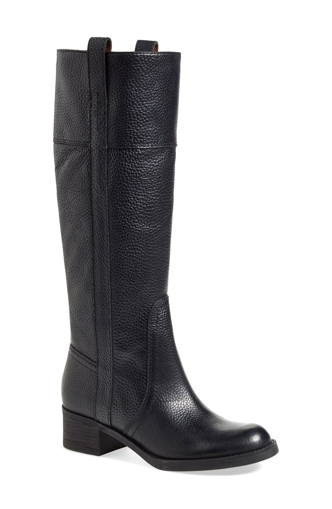 LUCKY BRAND, 'Heloisse' Boot, Main thumbnail 1, color, 002