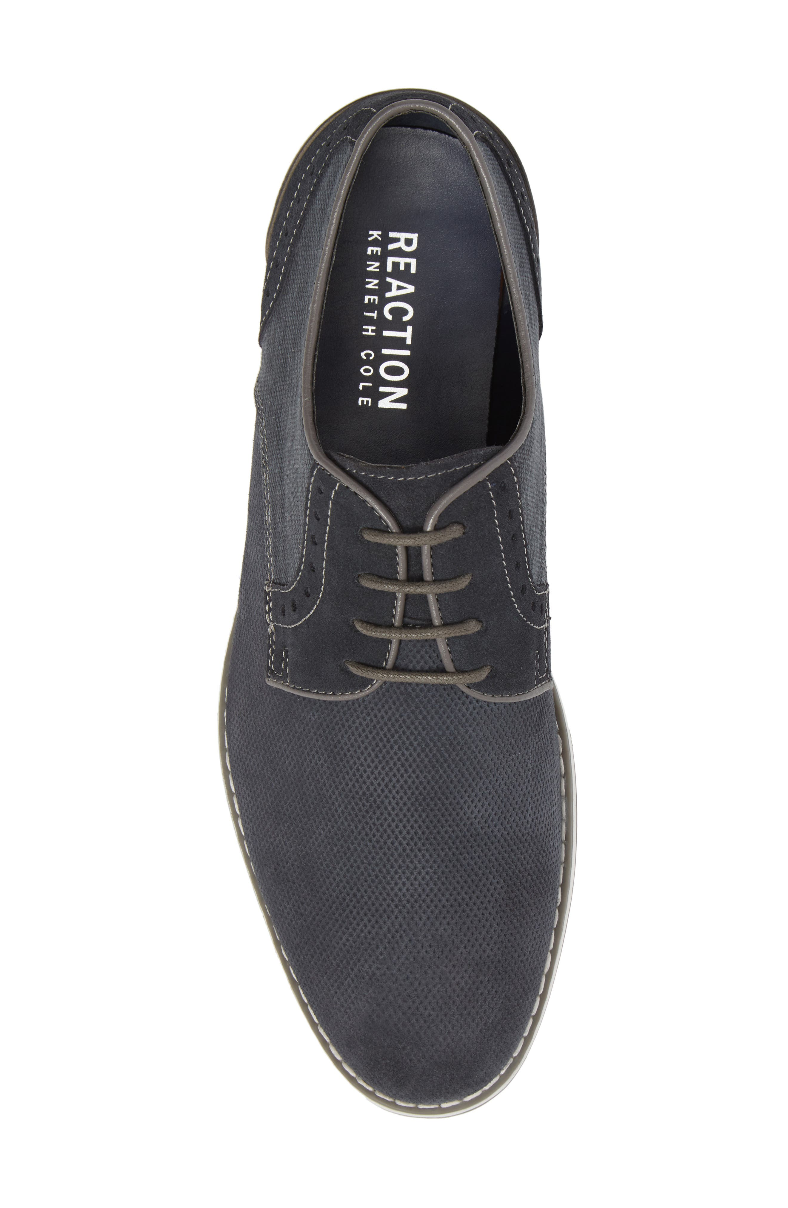 REACTION KENNETH COLE, Weiser Lace-up Derby, Alternate thumbnail 5, color, 410