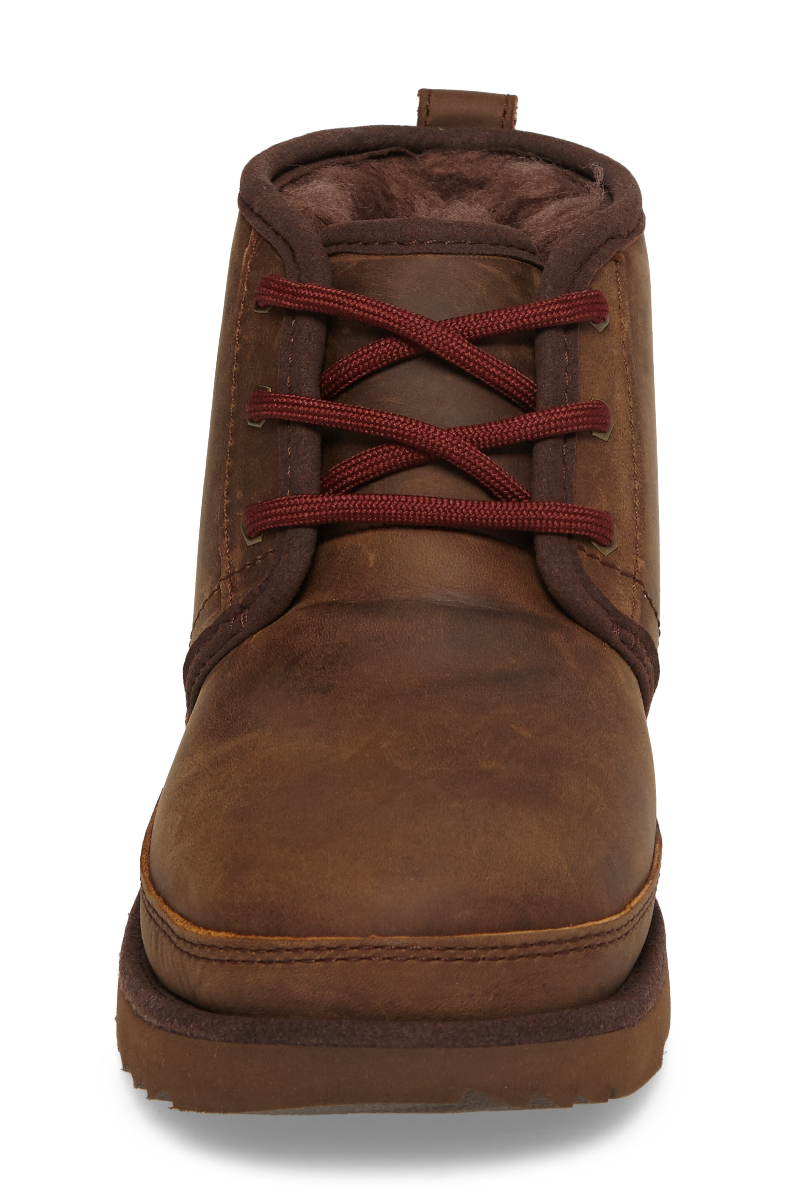 UGG<SUP>®</SUP>, Neumel II Waterproof Chukka, Alternate thumbnail 4, color, GRIZZLY