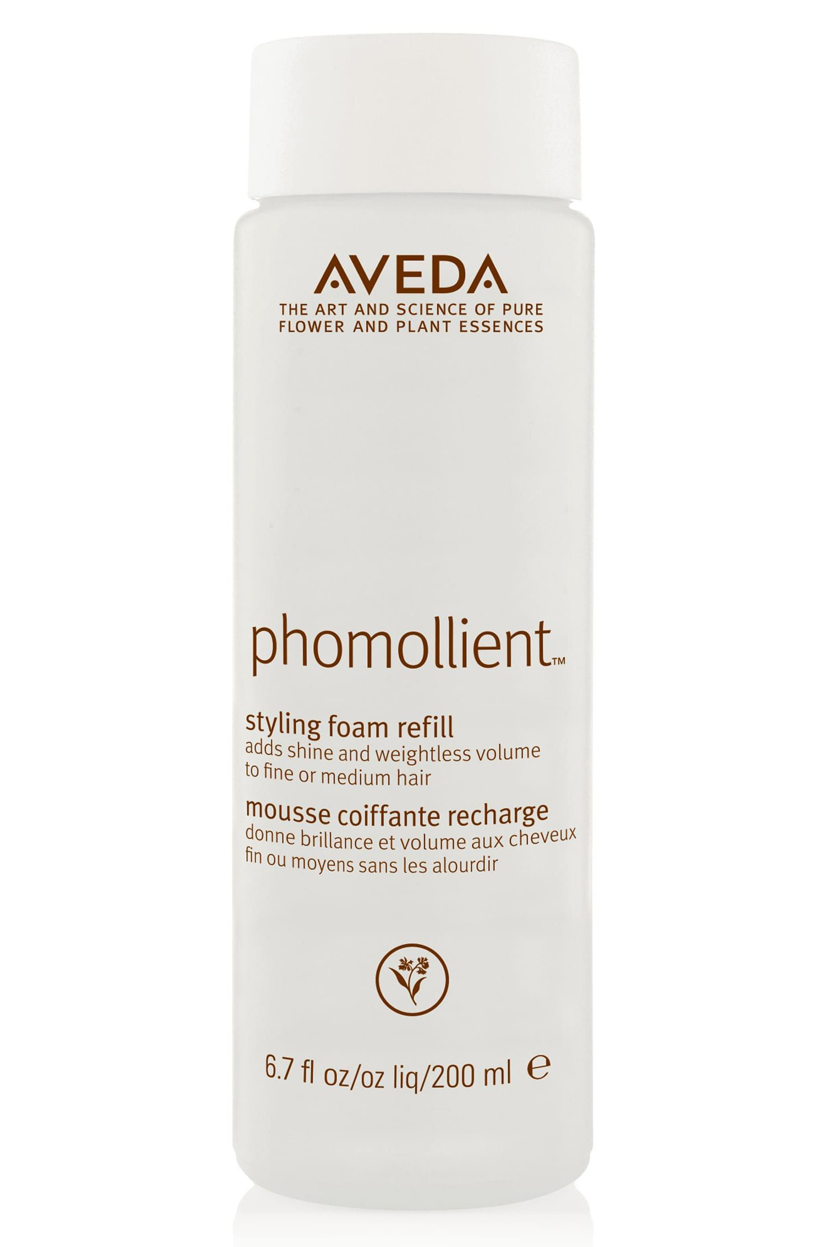 AVEDA, phomollient<sup>™</sup> Styling Foam Refill, Main thumbnail 1, color, NO COLOR