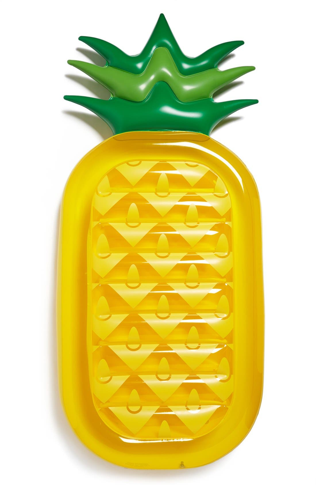 SUNNYLIFE, 'Really Big' Inflatable Pineapple Pool Floatie, Main thumbnail 1, color, 700