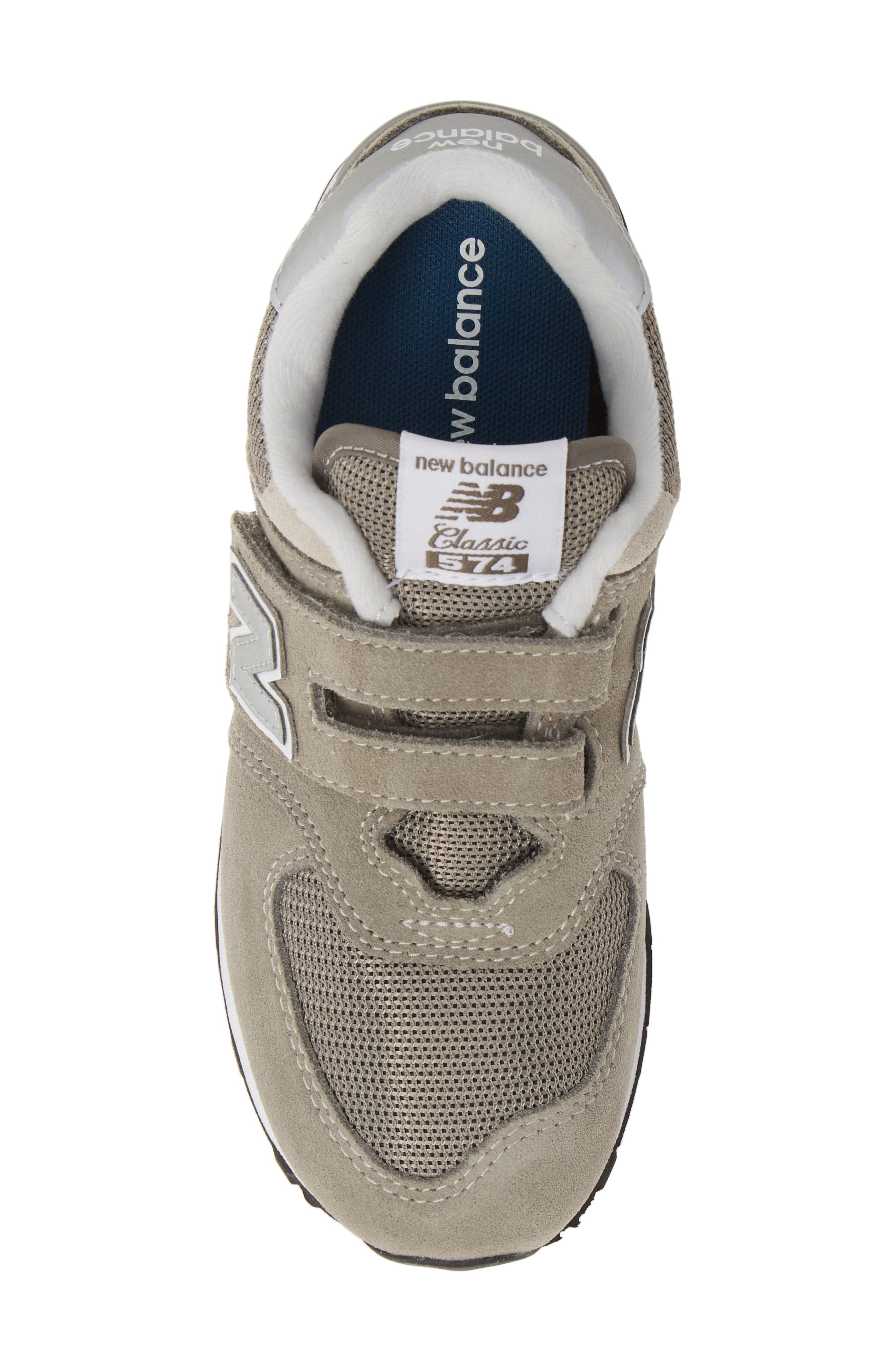 NEW BALANCE, 574 Retro Surf Sneaker, Alternate thumbnail 5, color, GREY