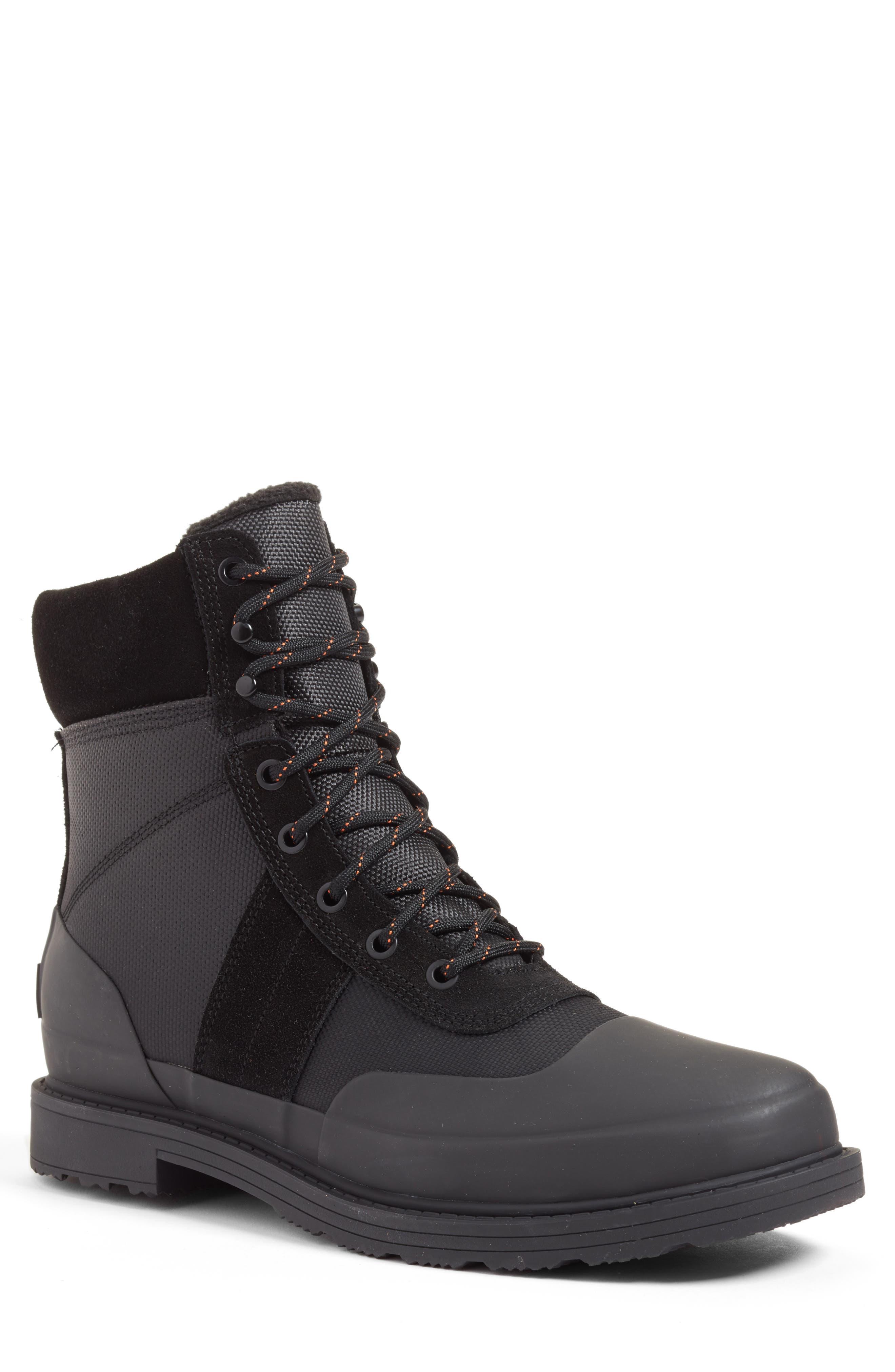 Hunter Original Insulated Commando Boot, Black