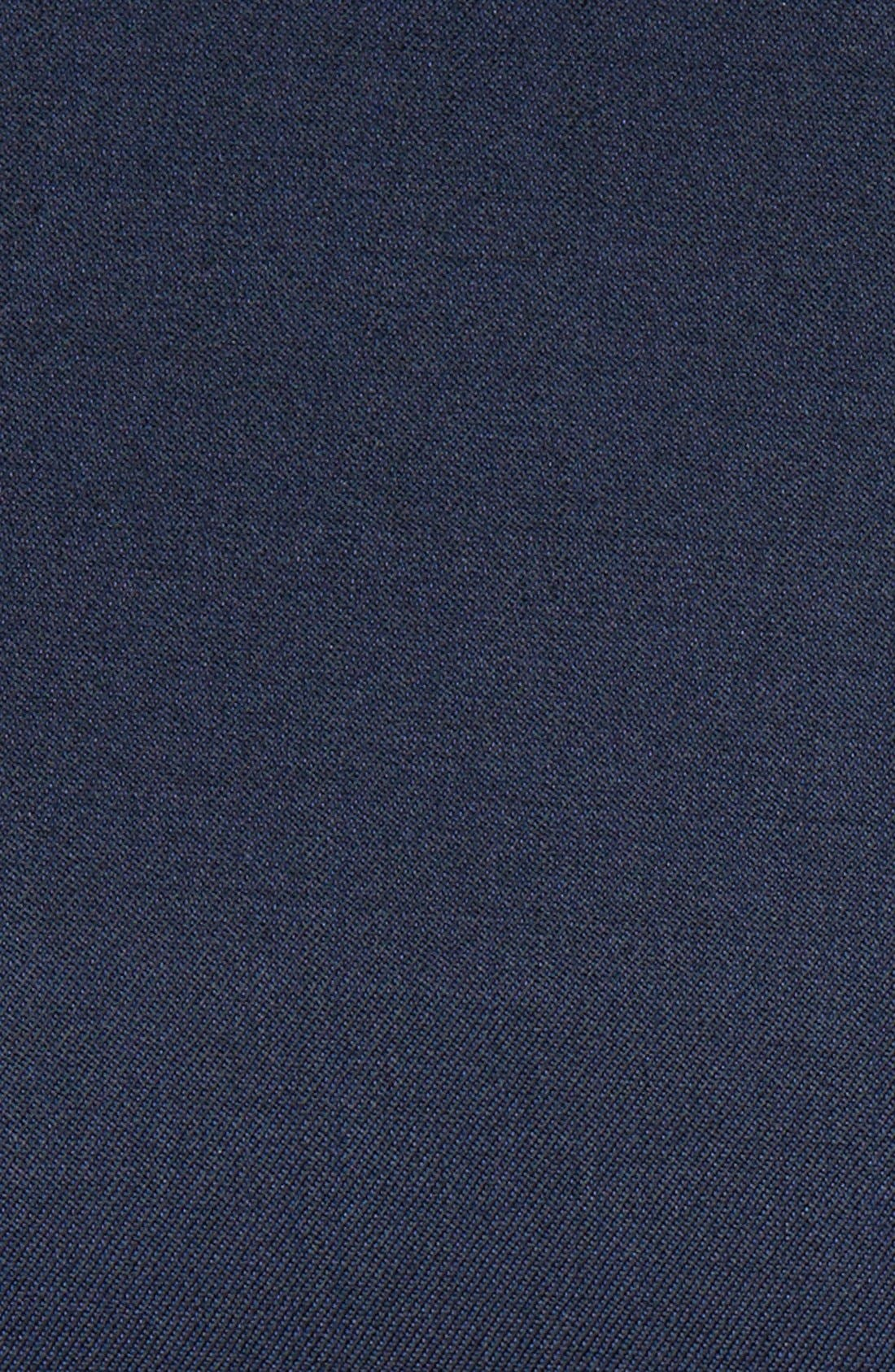 TED BAKER LONDON, Josh Trim Fit Navy Shawl Lapel Tuxedo, Alternate thumbnail 9, color, NAVY BLUE