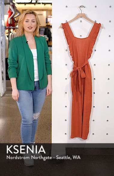 Frill Crop Jumpsuit, sales video thumbnail