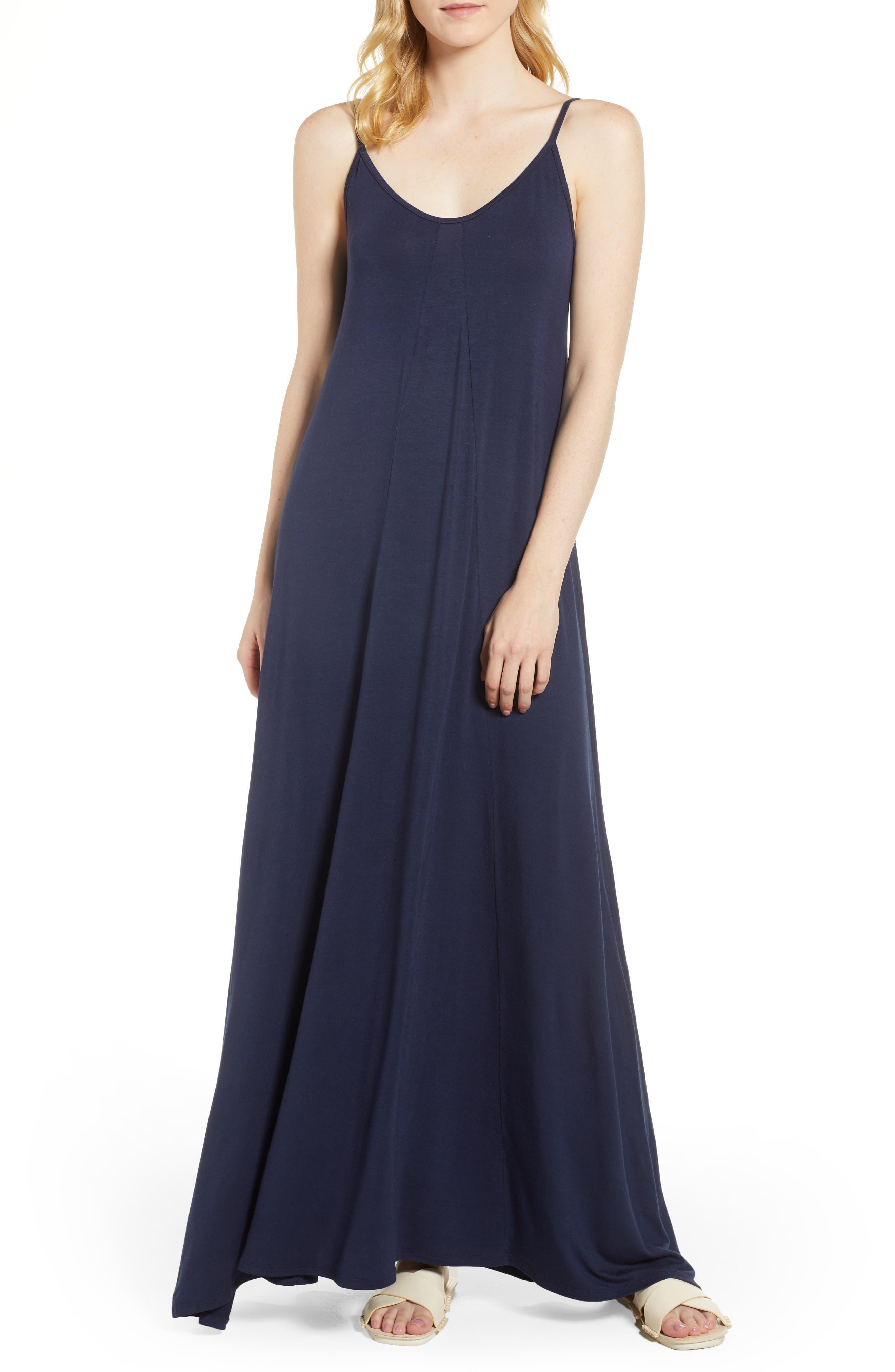 Petite Loveappella Knit Maxi Dress, Blue