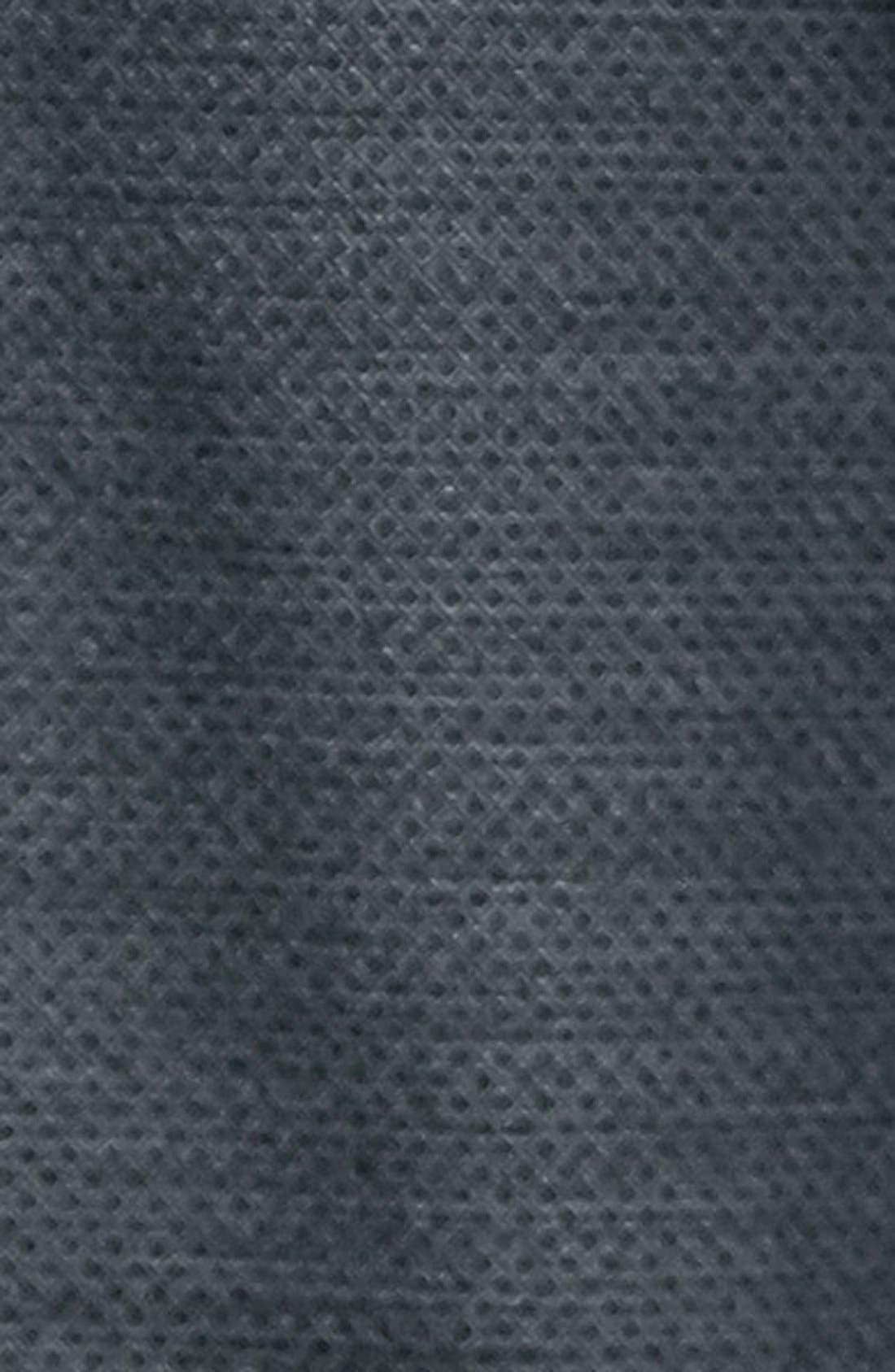 TOPMAN, Slim Fit Grey Diamond Texture Suit Jacket, Alternate thumbnail 6, color, 020