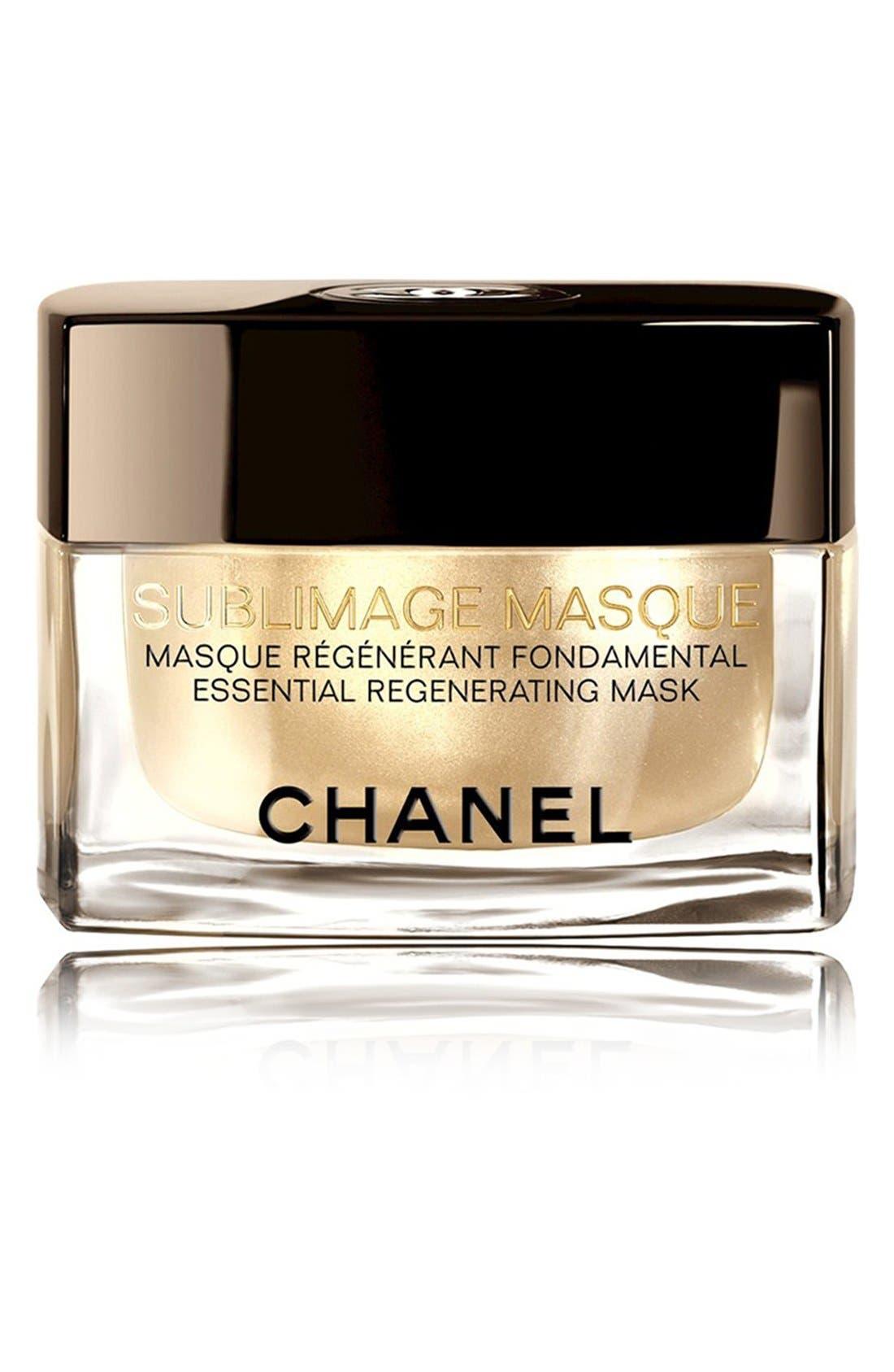 CHANEL SUBLIMAGE MASQUE<br />Essential Regenerating Mask, Main, color, NO COLOR