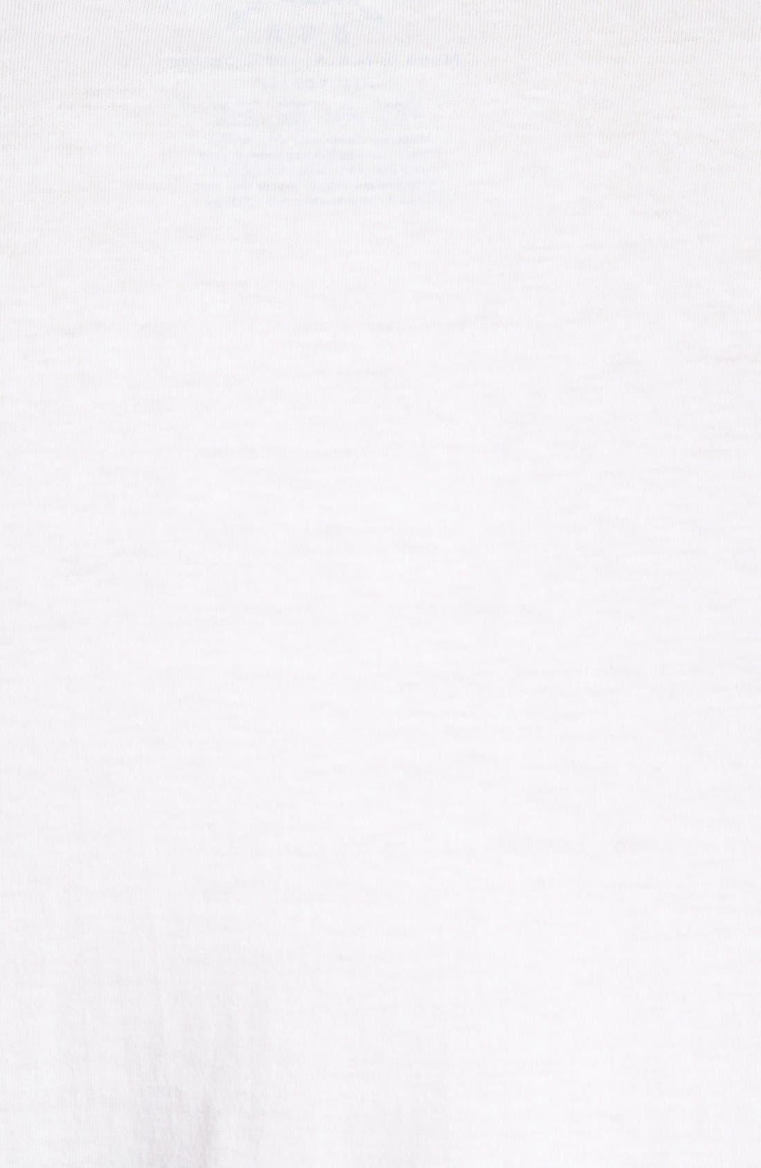 HORSES CUT SHOP, 'Peter Paulsen's House of Wheels' T-Shirt, Alternate thumbnail 3, color, 100