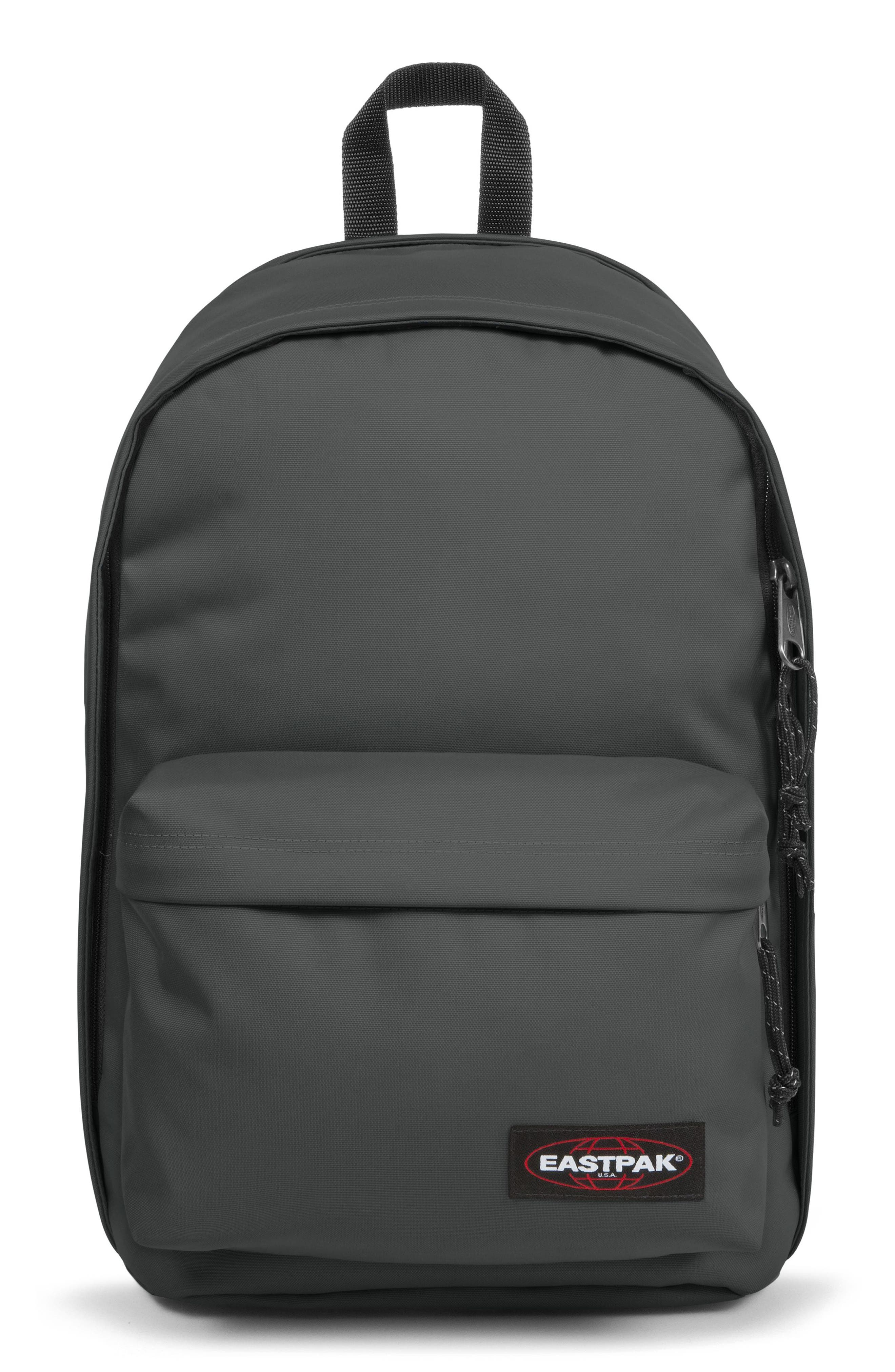 EASTPAK, Back to Work Backpack, Main thumbnail 1, color, GOOD GREY