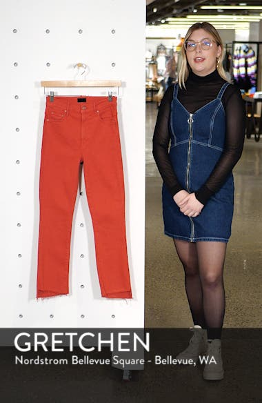 The Insider Step Hem Crop Jeans, sales video thumbnail