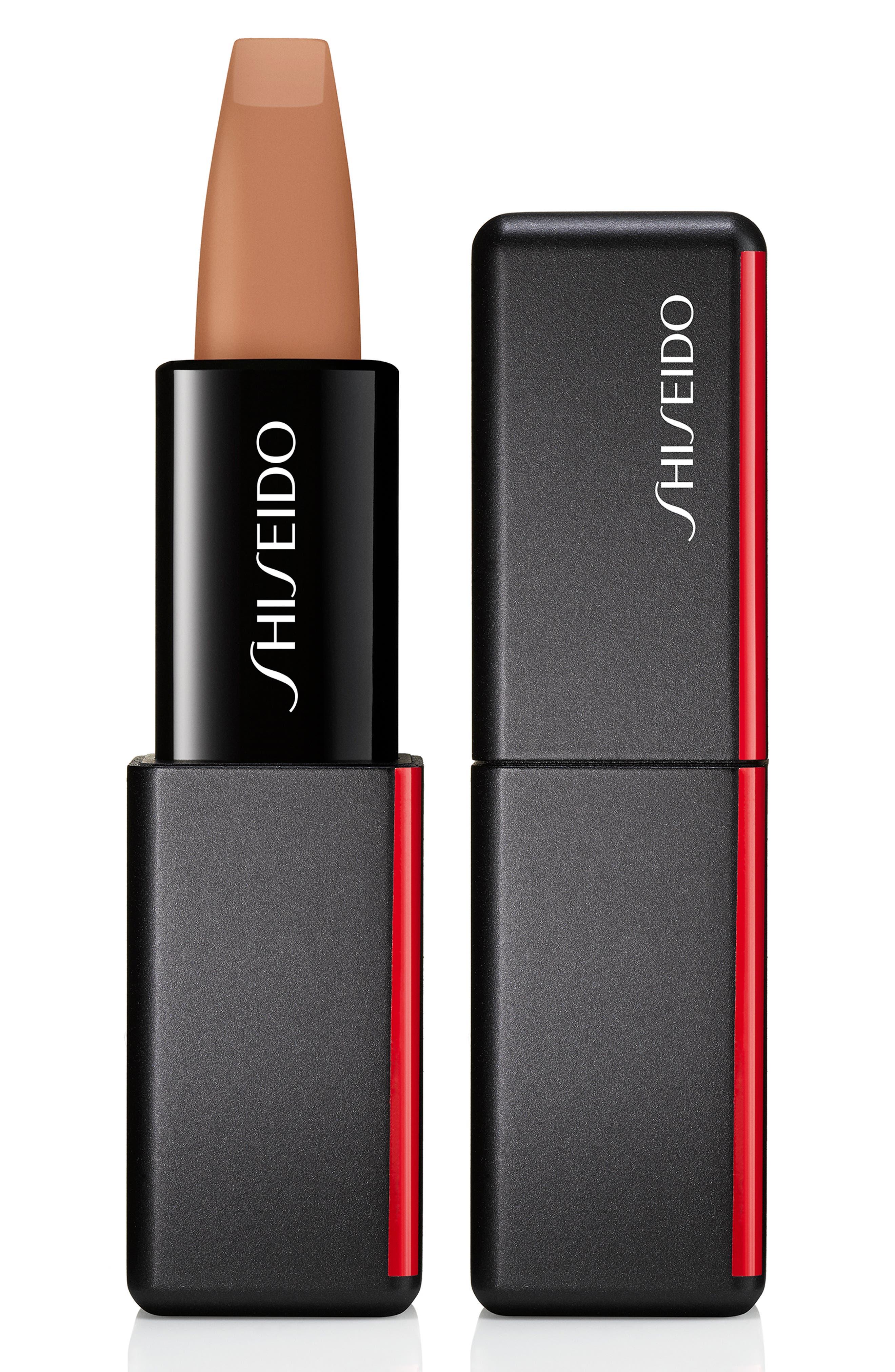 SHISEIDO, Modern Matte Powder Lipstick, Main thumbnail 1, color, NUDE STREAK