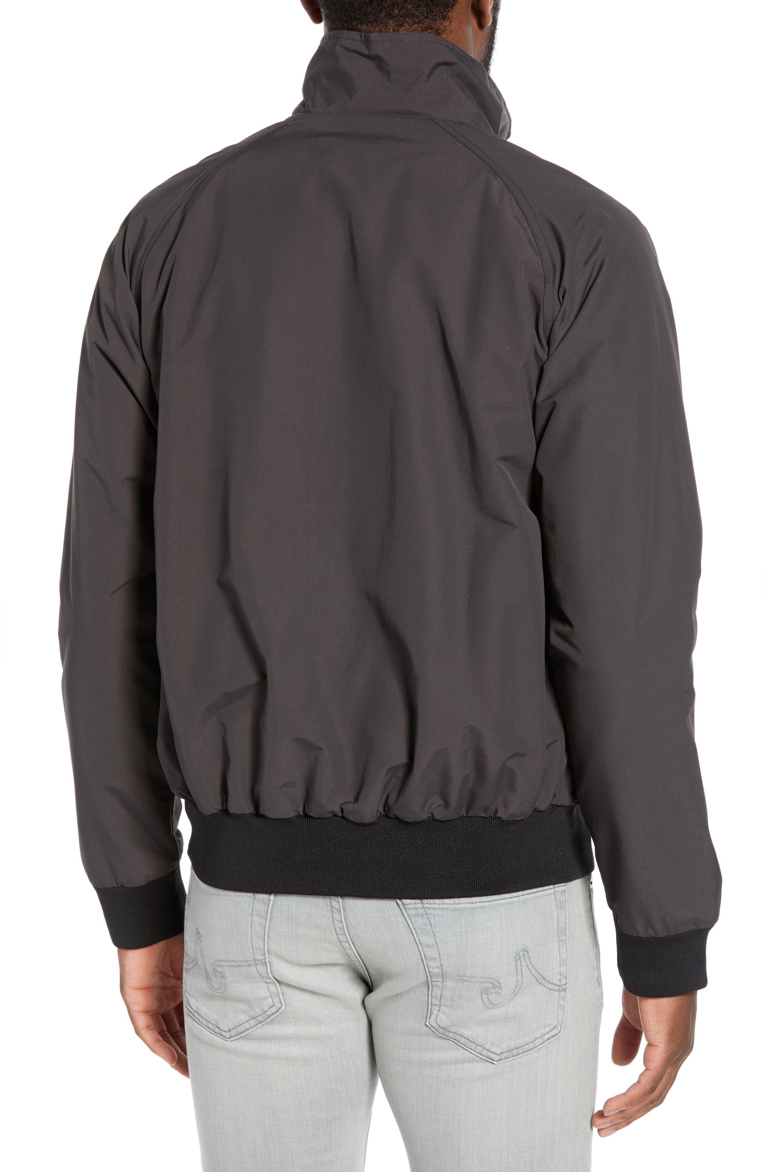 PATAGONIA, Baggies Wind & Water Resistant Jacket, Alternate thumbnail 2, color, INK BLACK
