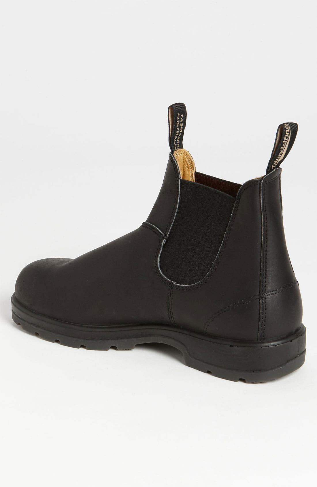 BLUNDSTONE FOOTWEAR, Chelsea Boot, Alternate thumbnail 8, color, BLACK