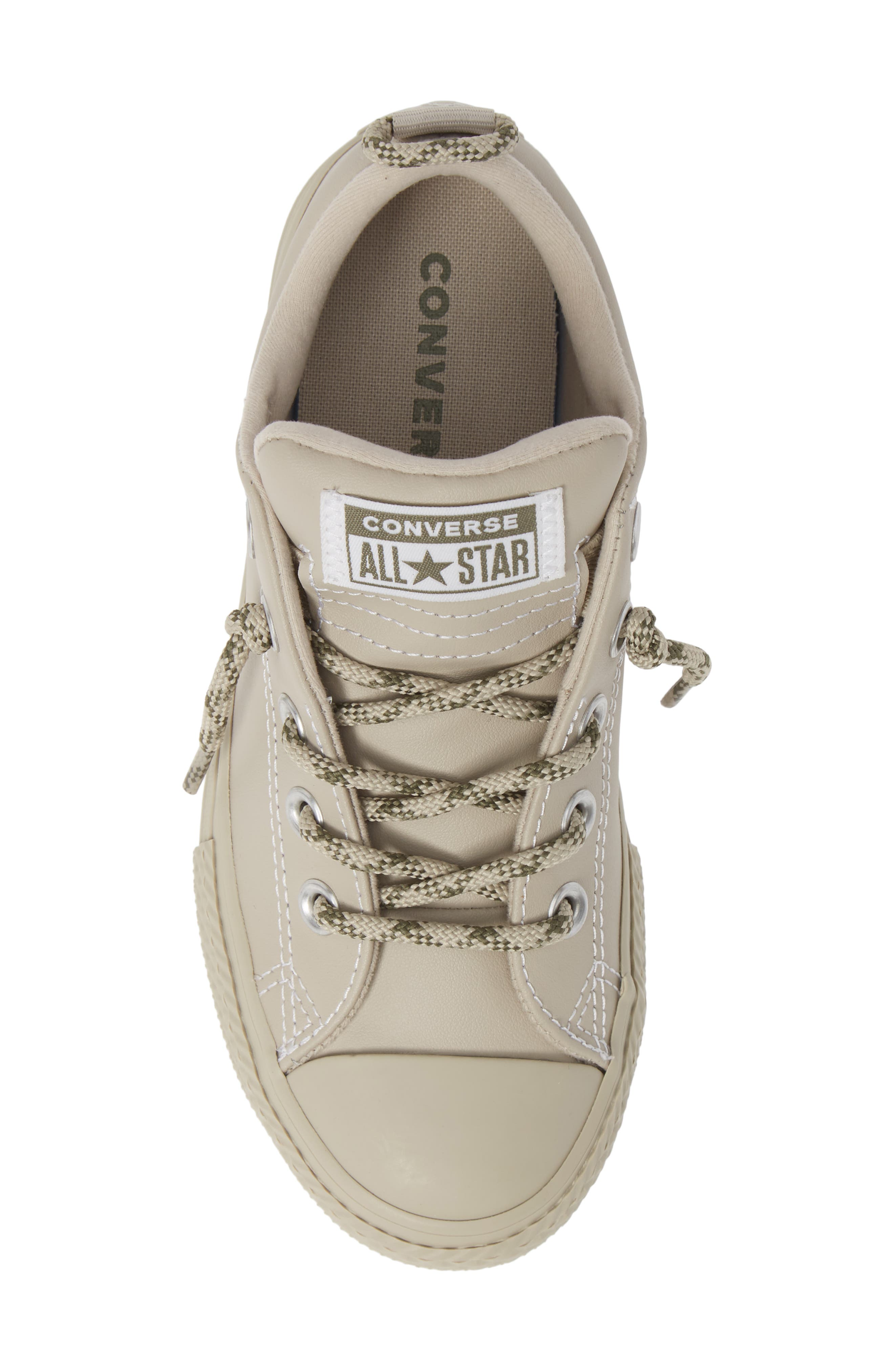 CONVERSE, Chuck Taylor<sup>®</sup> All Star<sup>®</sup> Street Hiker Sneaker, Alternate thumbnail 5, color, PAPYRUS