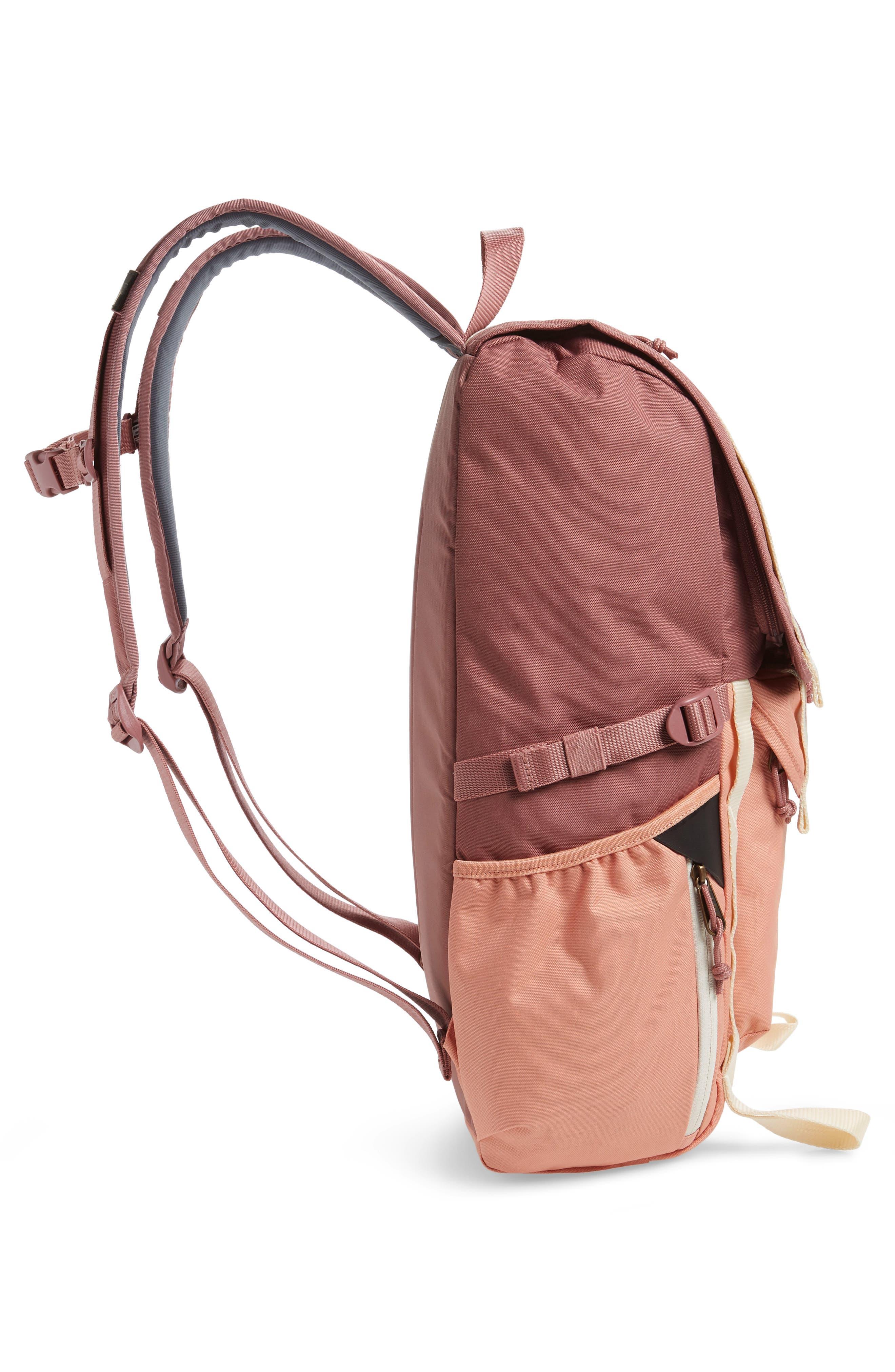 JANSPORT, Hatchet Backpack, Alternate thumbnail 6, color, MOCHA/ CLAY