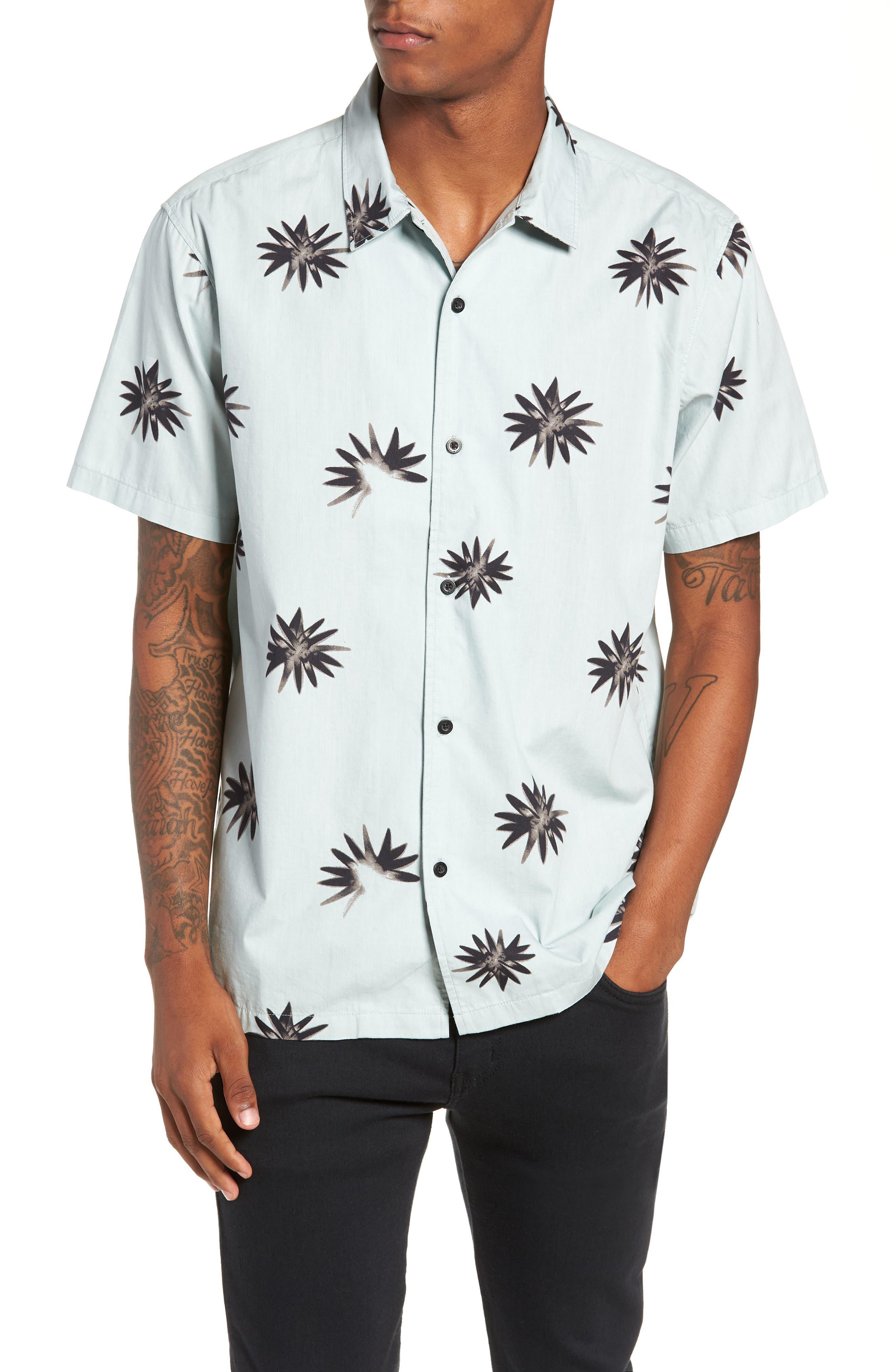 TAVIK Villa Floral Woven Shirt, Main, color, 083