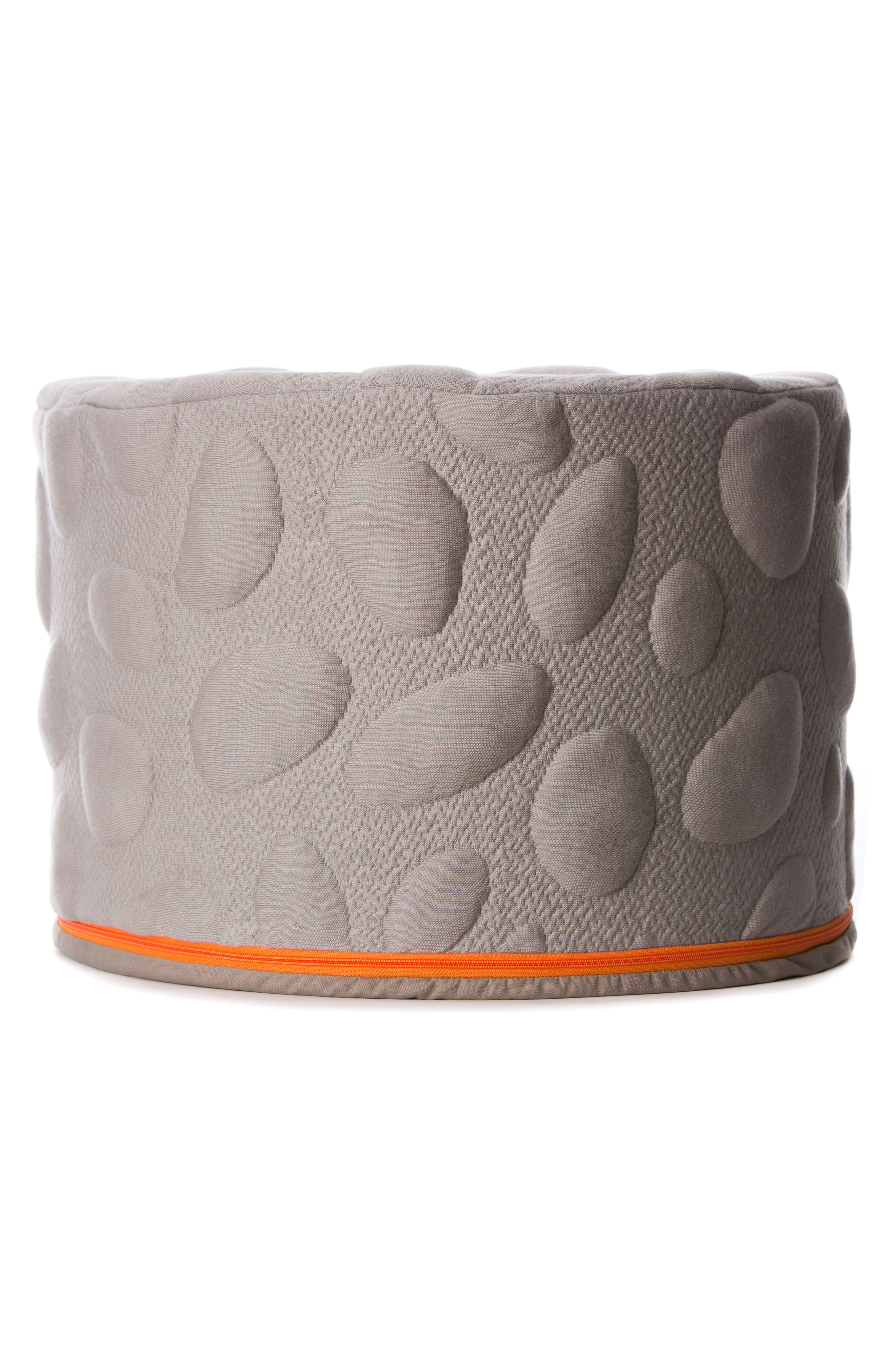 NOOK SLEEP SYSTEMS Pebble Pouf, Main, color, MISTY