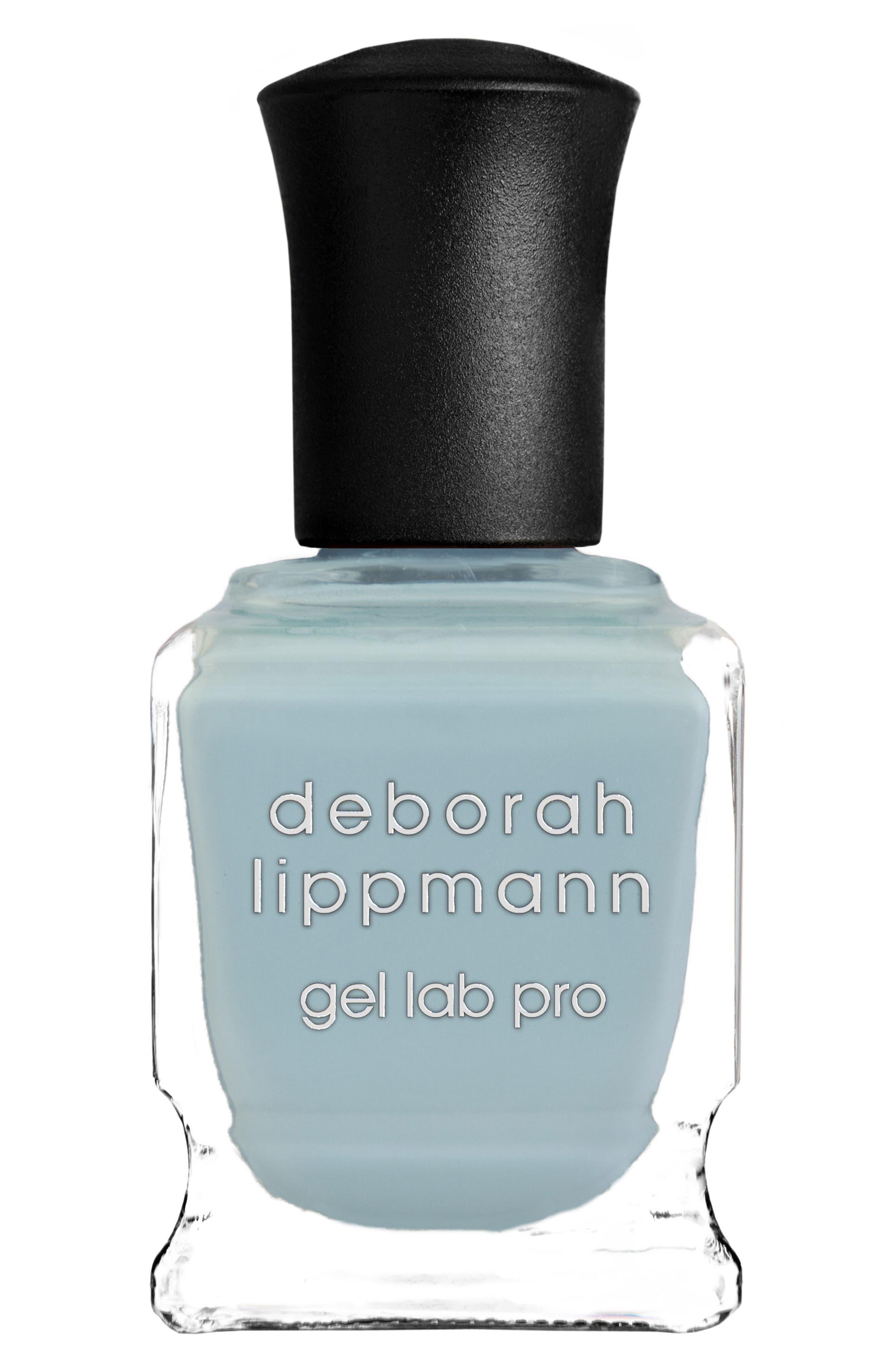 DEBORAH LIPPMANN Hyper Vibes Gel Lab Pro Nail Color, Main, color, BABY BLUE EYES