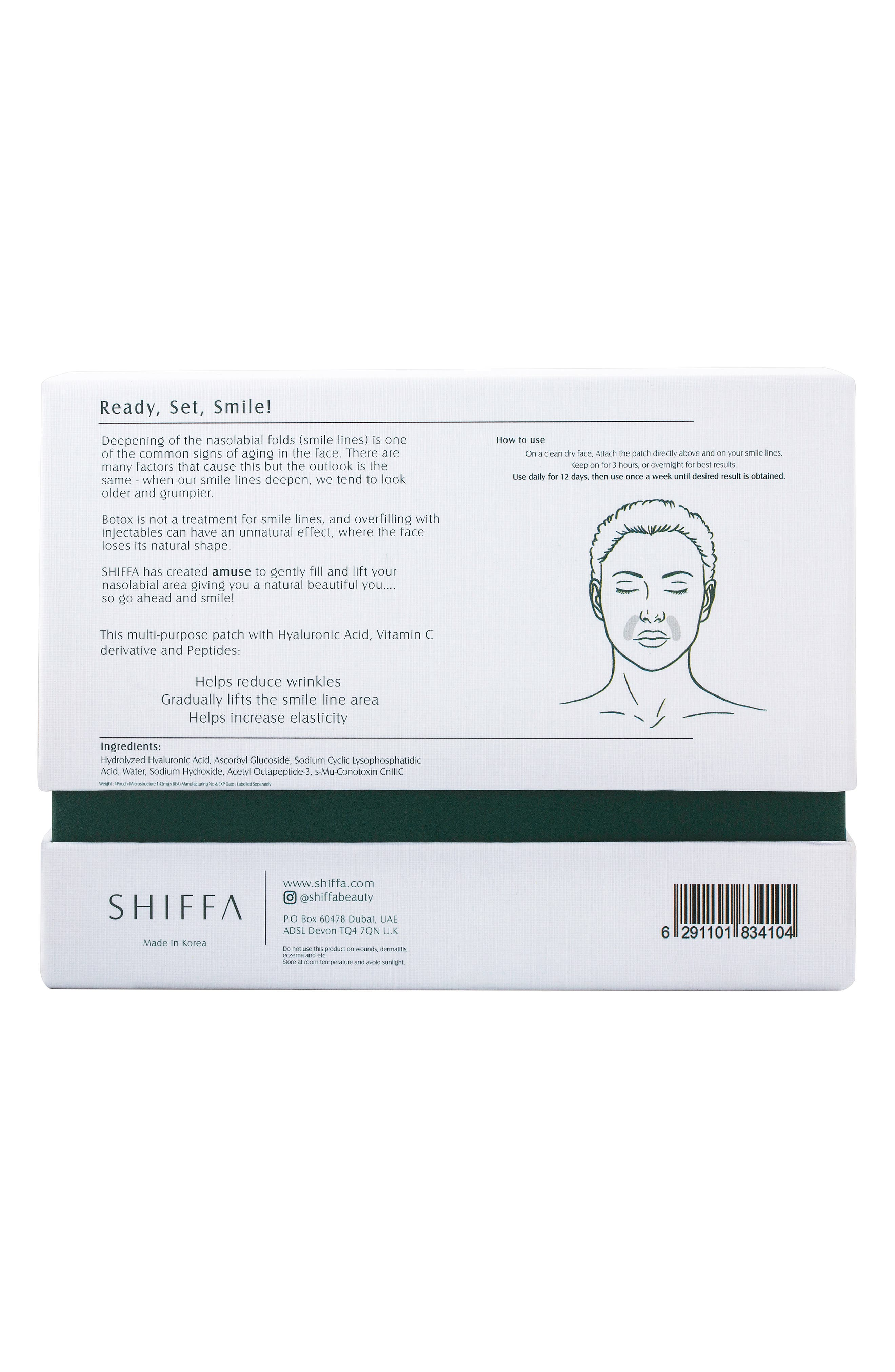 SHIFFA, Amuse Dissolvable Patches, Alternate thumbnail 4, color, NO COLOR