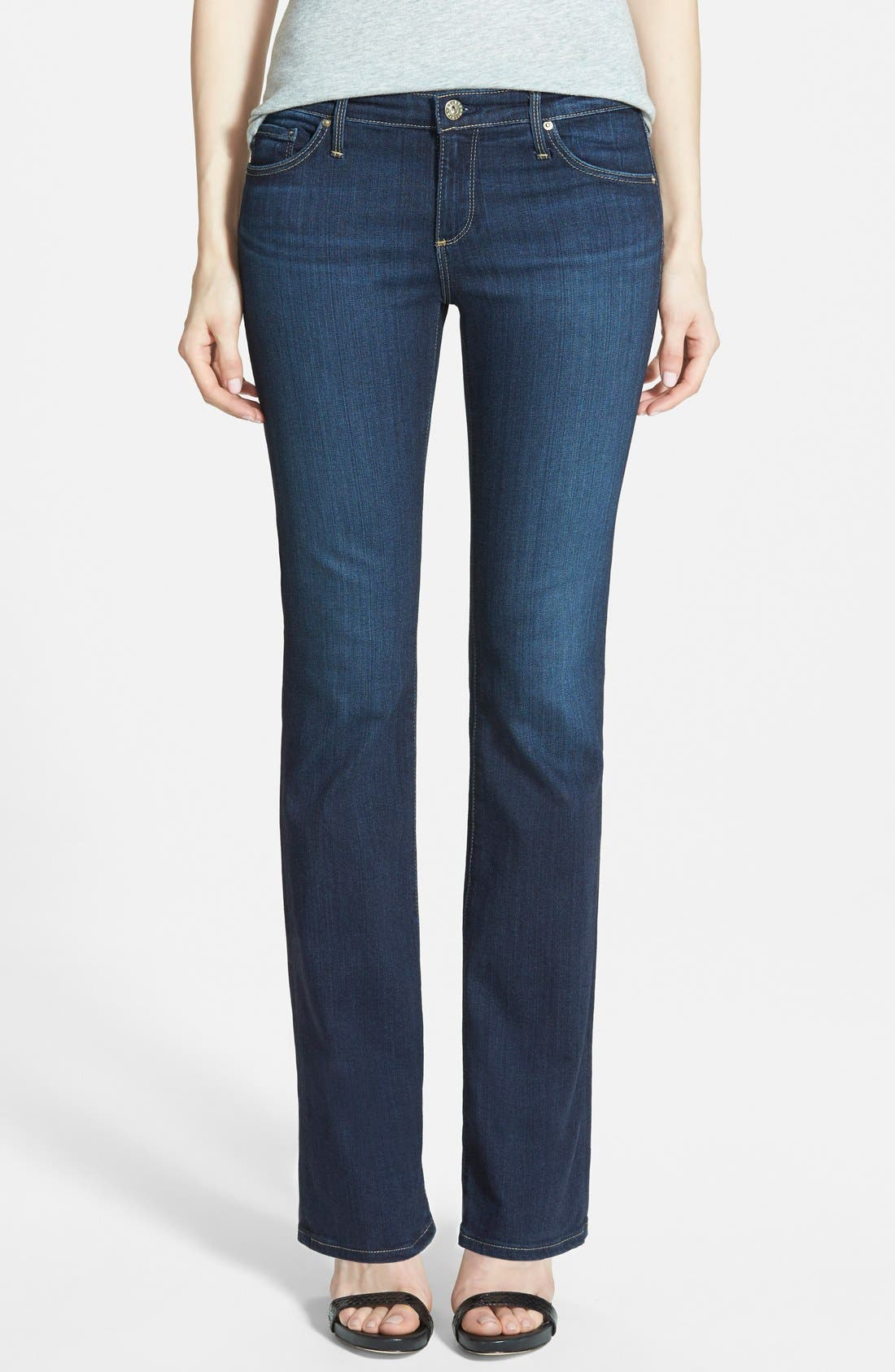 AG, 'The Angelina' Bootcut Jeans, Main thumbnail 1, color, 400