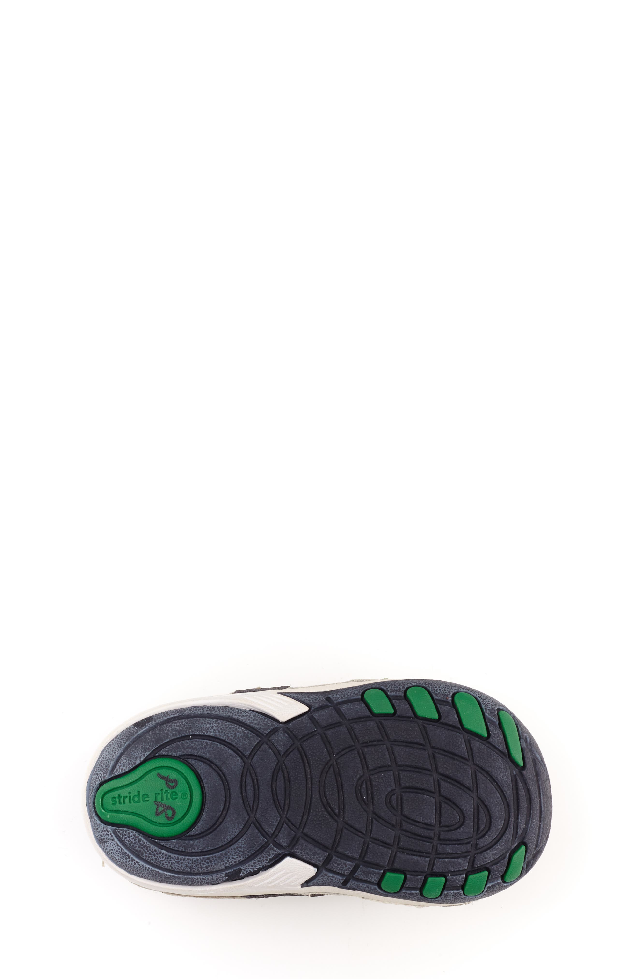 STRIDE RITE, 'Arte' Sneaker, Alternate thumbnail 6, color, WHITE/ NAVY