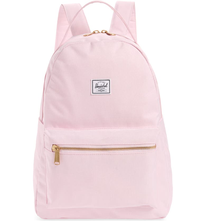 fb261faed56 Herschel Supply Co. Nova Mid Volume Backpack - Pink In Pink Lady Crosshatch
