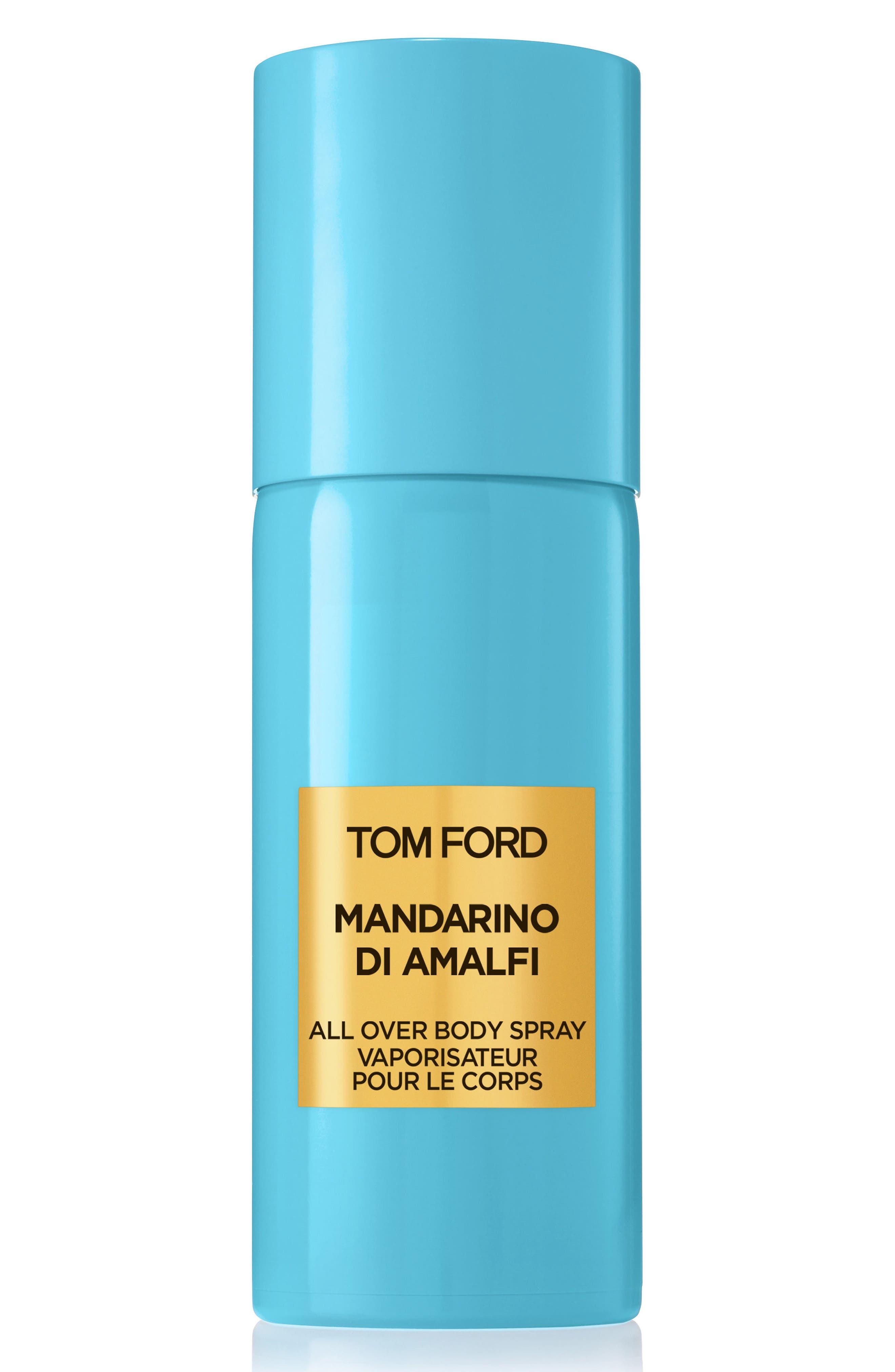 TOM FORD, Private Blend Mandarino di Amalfi All Over Body Spray, Main thumbnail 1, color, NO COLOR