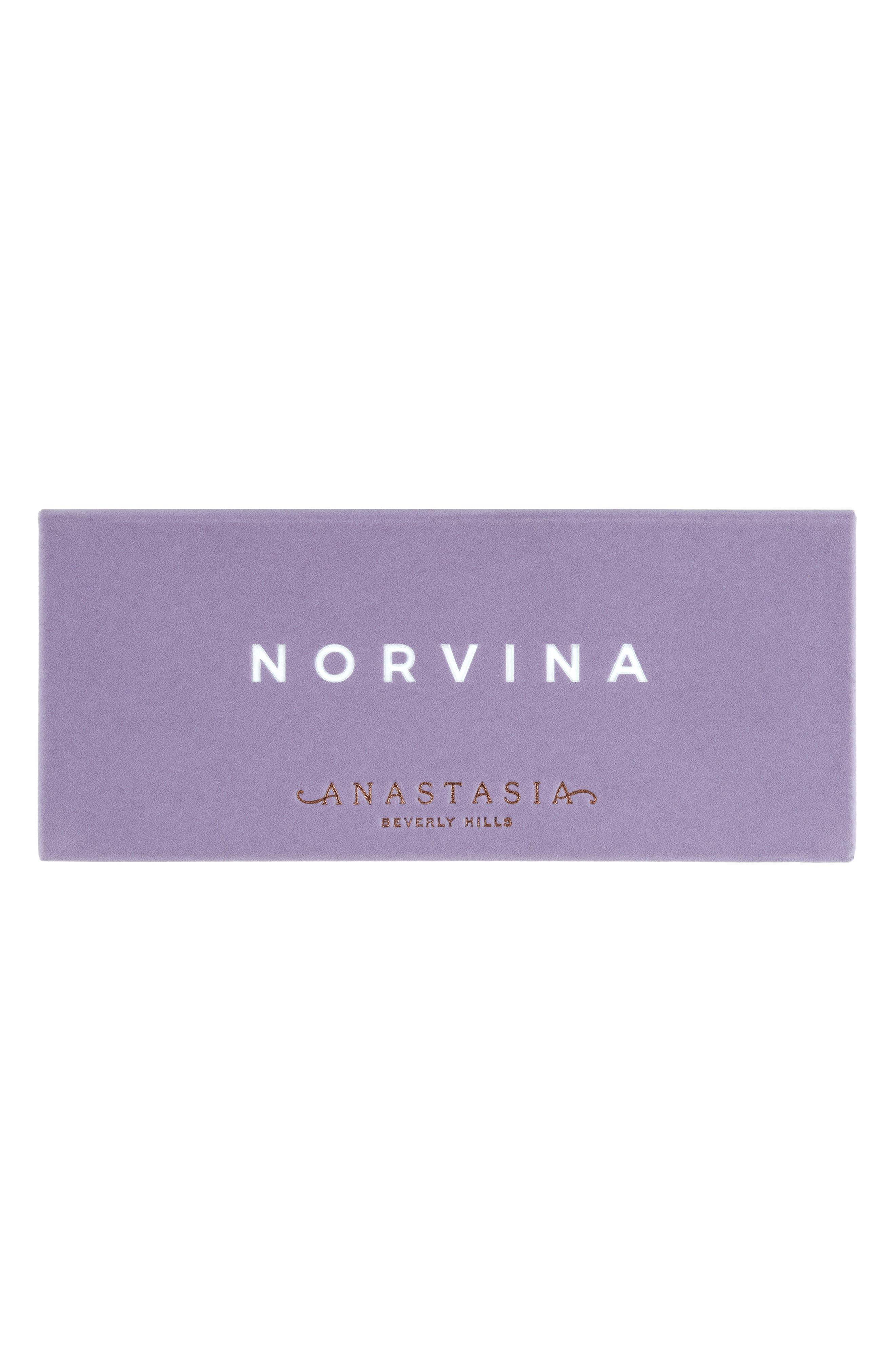 ANASTASIA BEVERLY HILLS, Norvina Eyeshadow Palette, Alternate thumbnail 4, color, NO COLOR