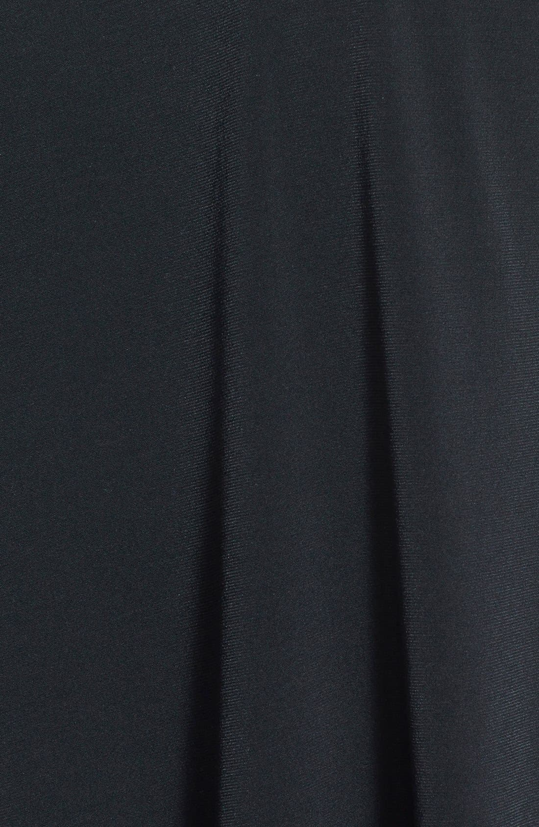 GLAMOROUS, Long Sleeve Shift Dress, Alternate thumbnail 2, color, 001