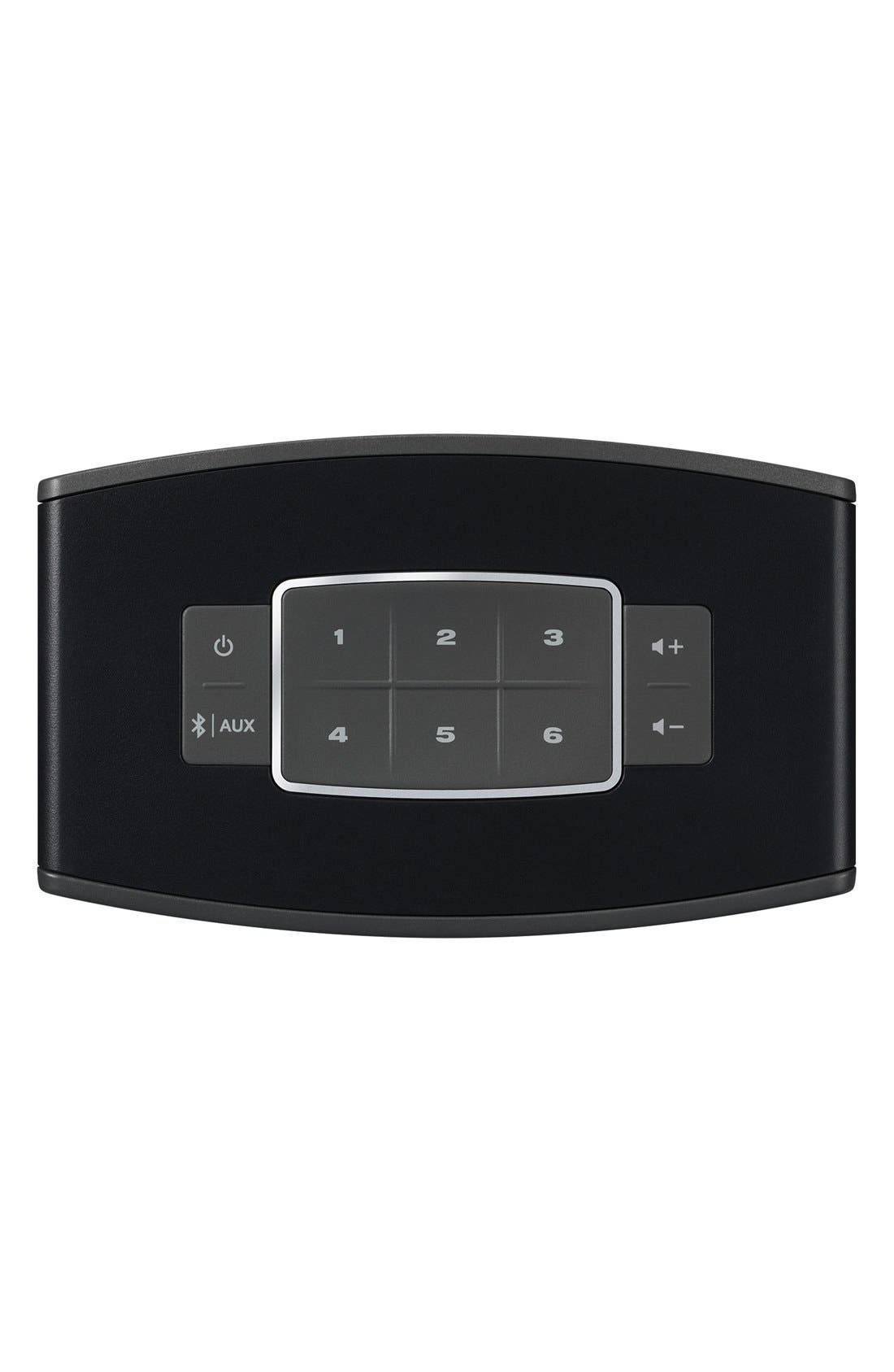 BOSE<SUP>®</SUP>, SoundTouch<sup>®</sup> 10 Wireless Music System, Alternate thumbnail 4, color, BLACK