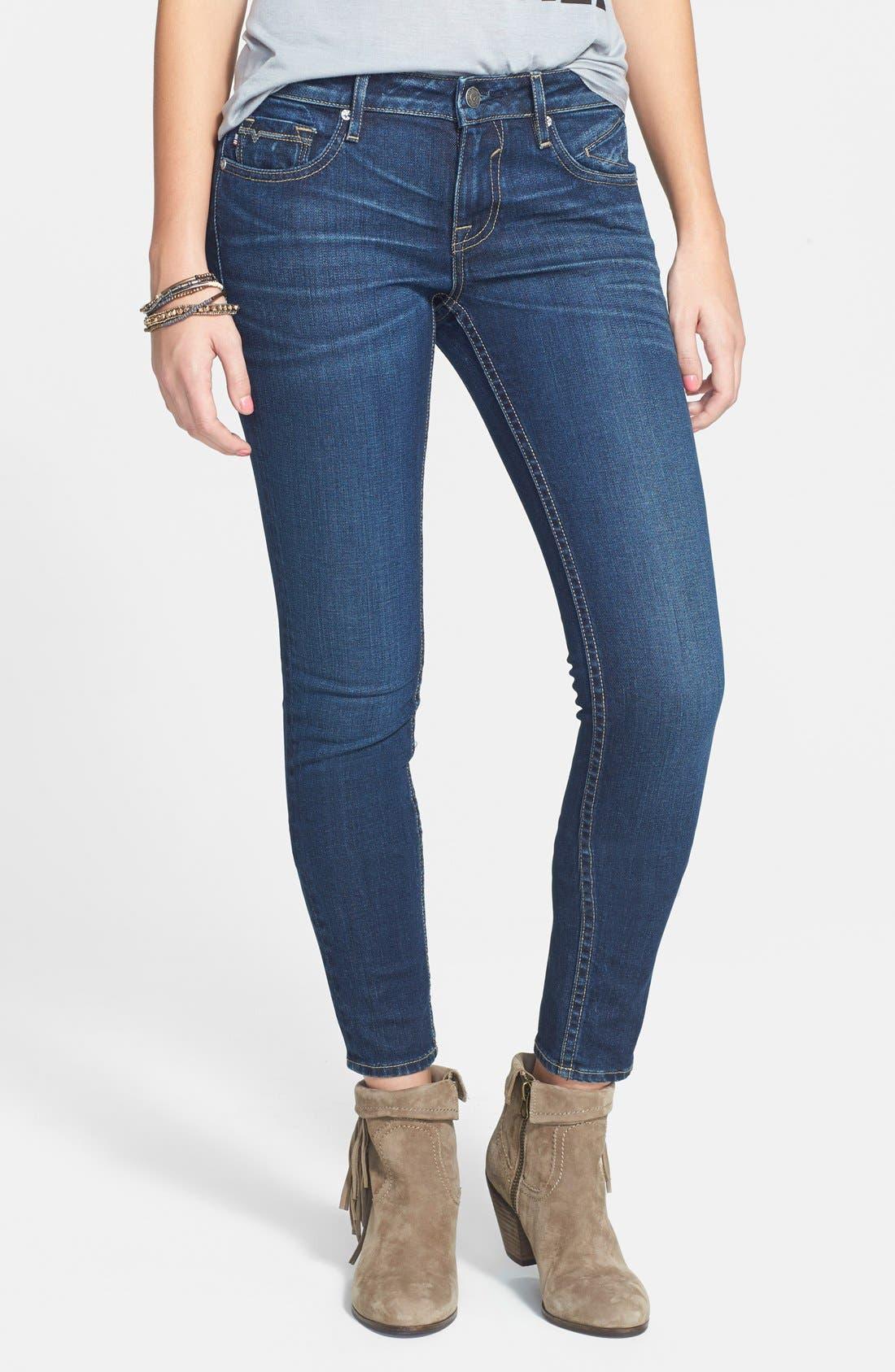 VIGOSS, Skinny Jeans, Main thumbnail 1, color, 400