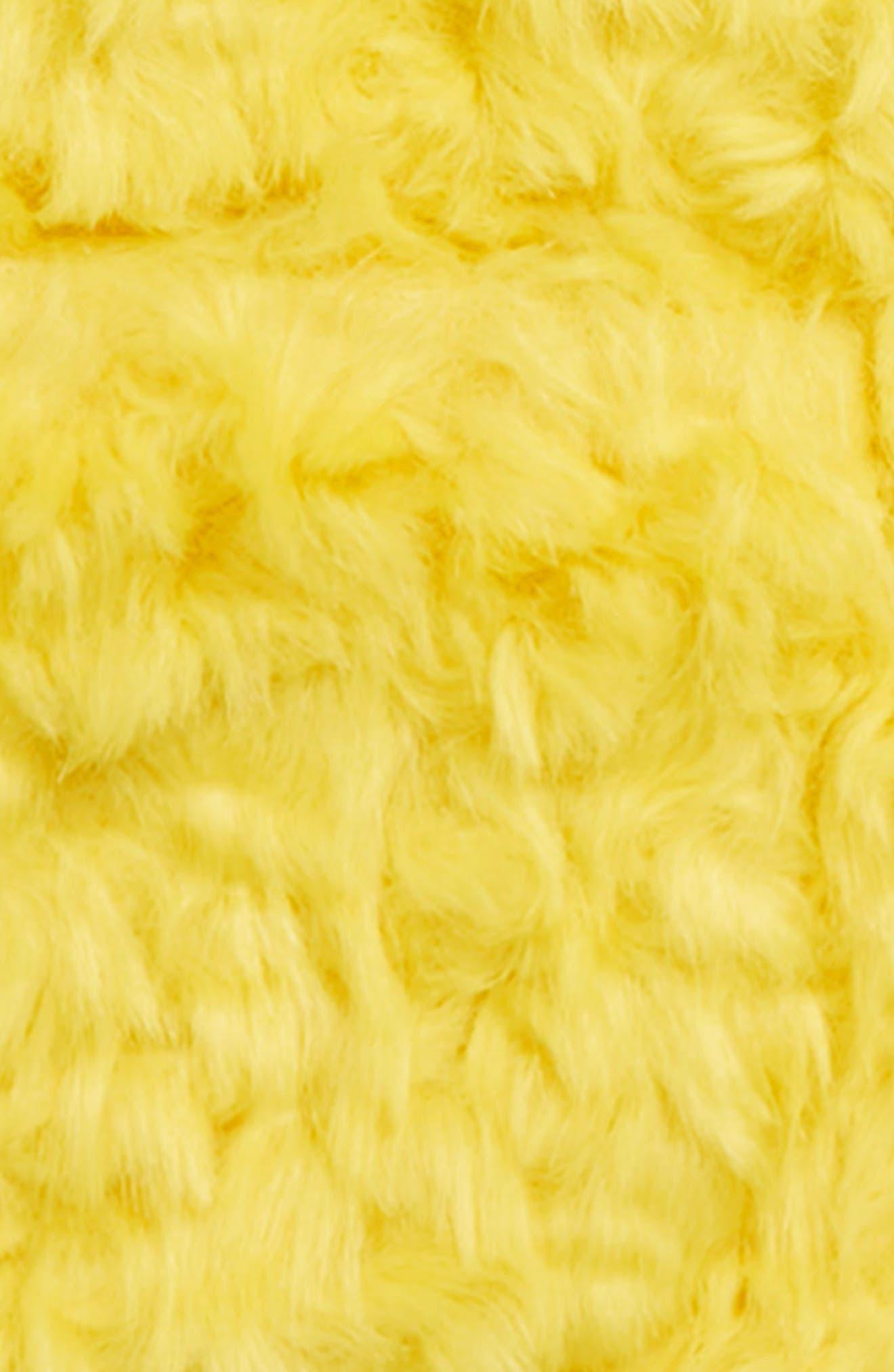 KENZO, Party Faux Fur Coat, Alternate thumbnail 2, color, CHROME
