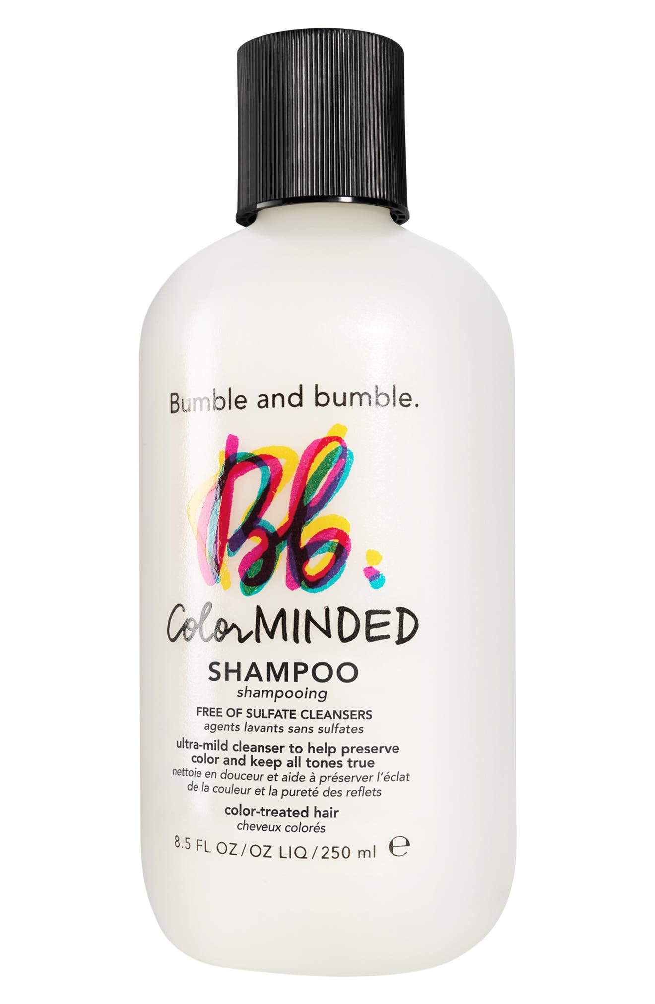 BUMBLE AND BUMBLE. Bumble and bumble Color Minded Shampoo, Main, color, NO COLOR