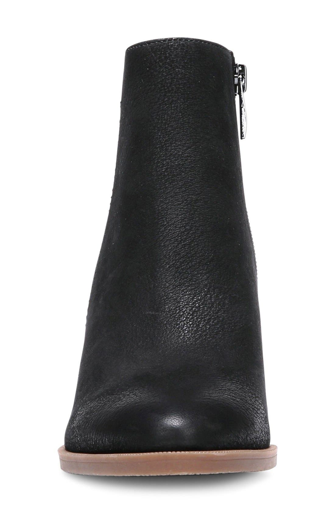 FRANCO SARTO, 'Dipali' Block Heel Bootie, Alternate thumbnail 3, color, 001