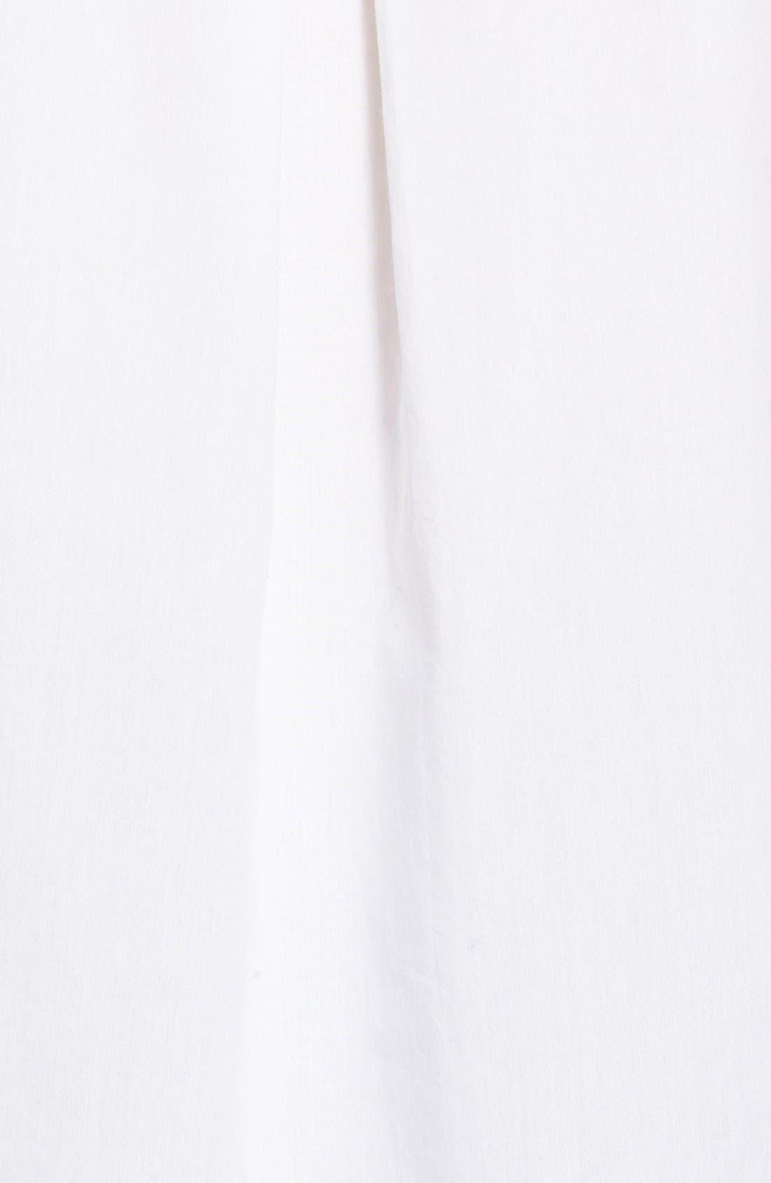 TREASURE & BOND, Treasure&Bond Pintuck Pleat Boyfriend Shirt, Alternate thumbnail 2, color, 100