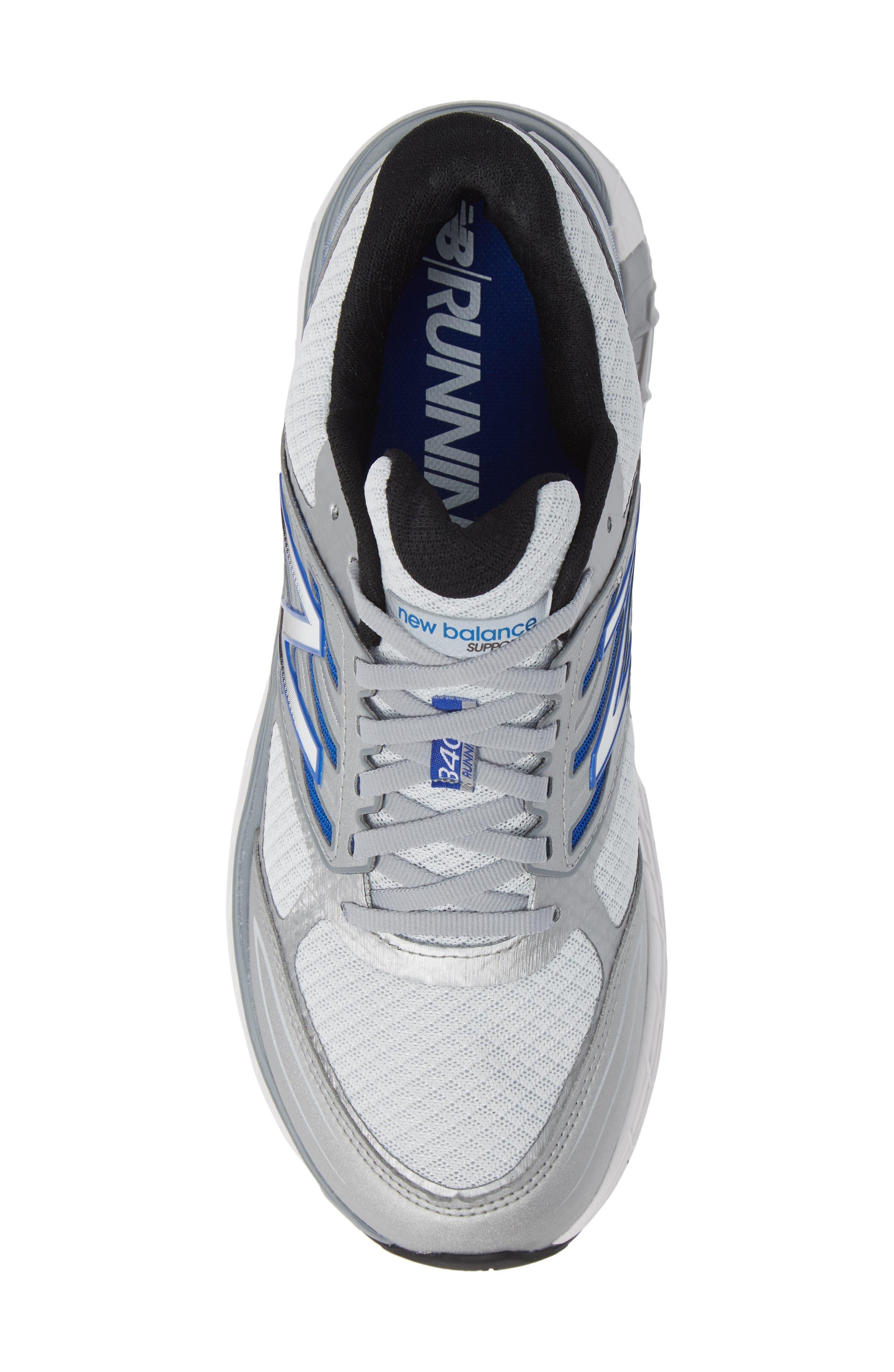 NEW BALANCE, 1340v3 Running Shoe, Alternate thumbnail 5, color, WHITE