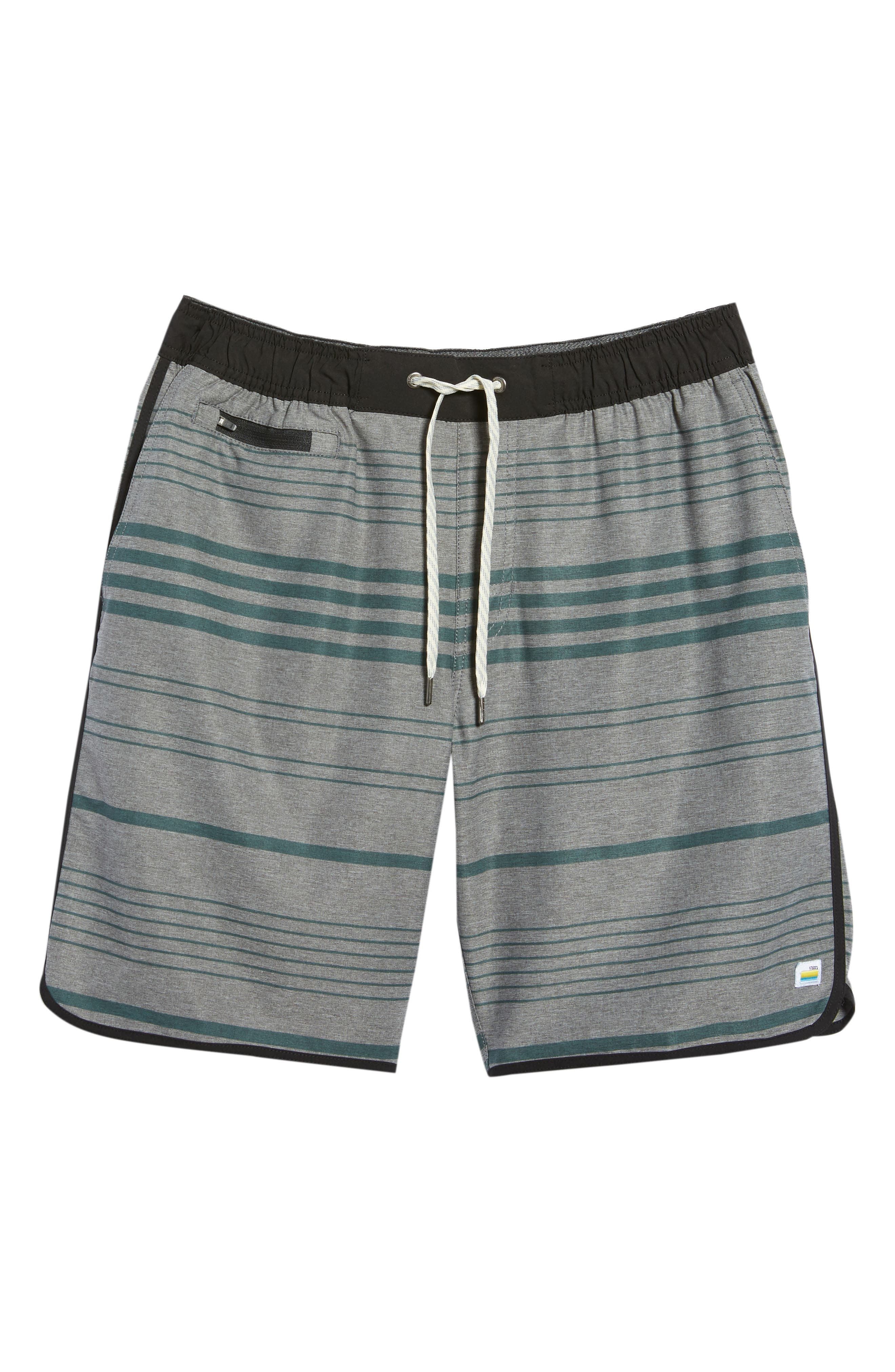VUORI, Banks Performance Hybrid Shorts, Alternate thumbnail 7, color, CANYON MICRO STRIPE