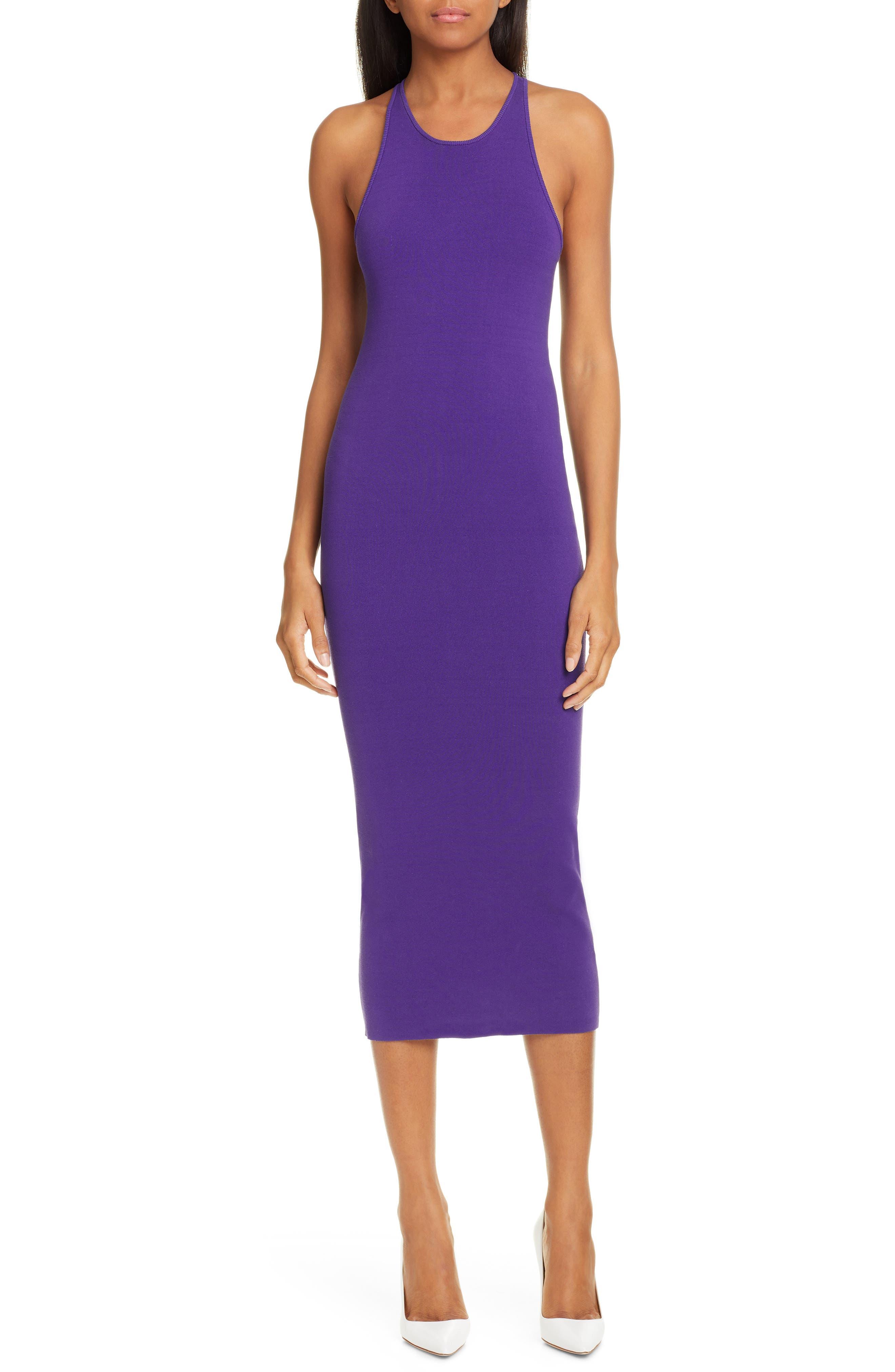 A.l.c. Marc Racerback Midi Dress, Purple