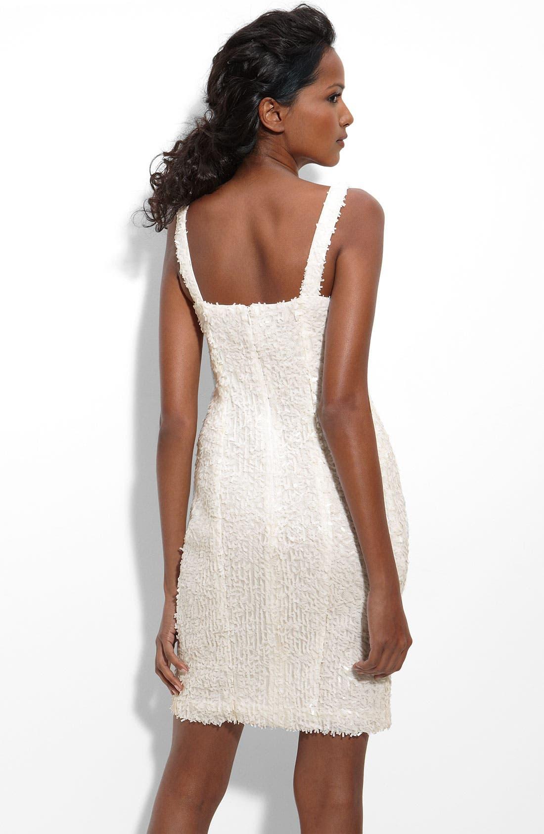 SUZI CHIN FOR MAGGY BOUTIQUE, Paillette Sheath Dress, Alternate thumbnail 2, color, 900