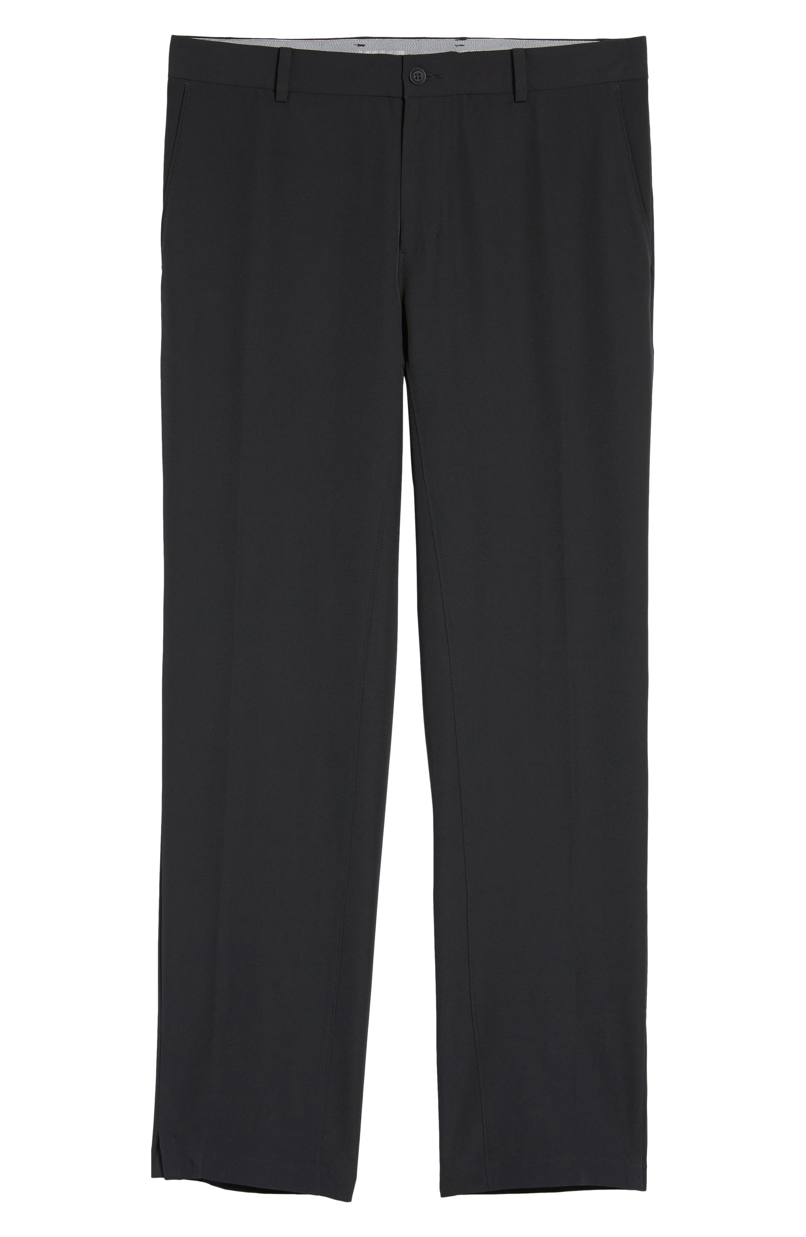 NIKE, Hybrid Flex Golf Pants, Alternate thumbnail 7, color, 010