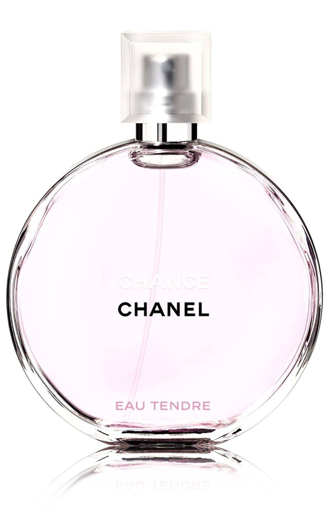 CHANEL CHANCE EAU TENDRE<br />Eau de Toilette Spray, Main, color, NO COLOR