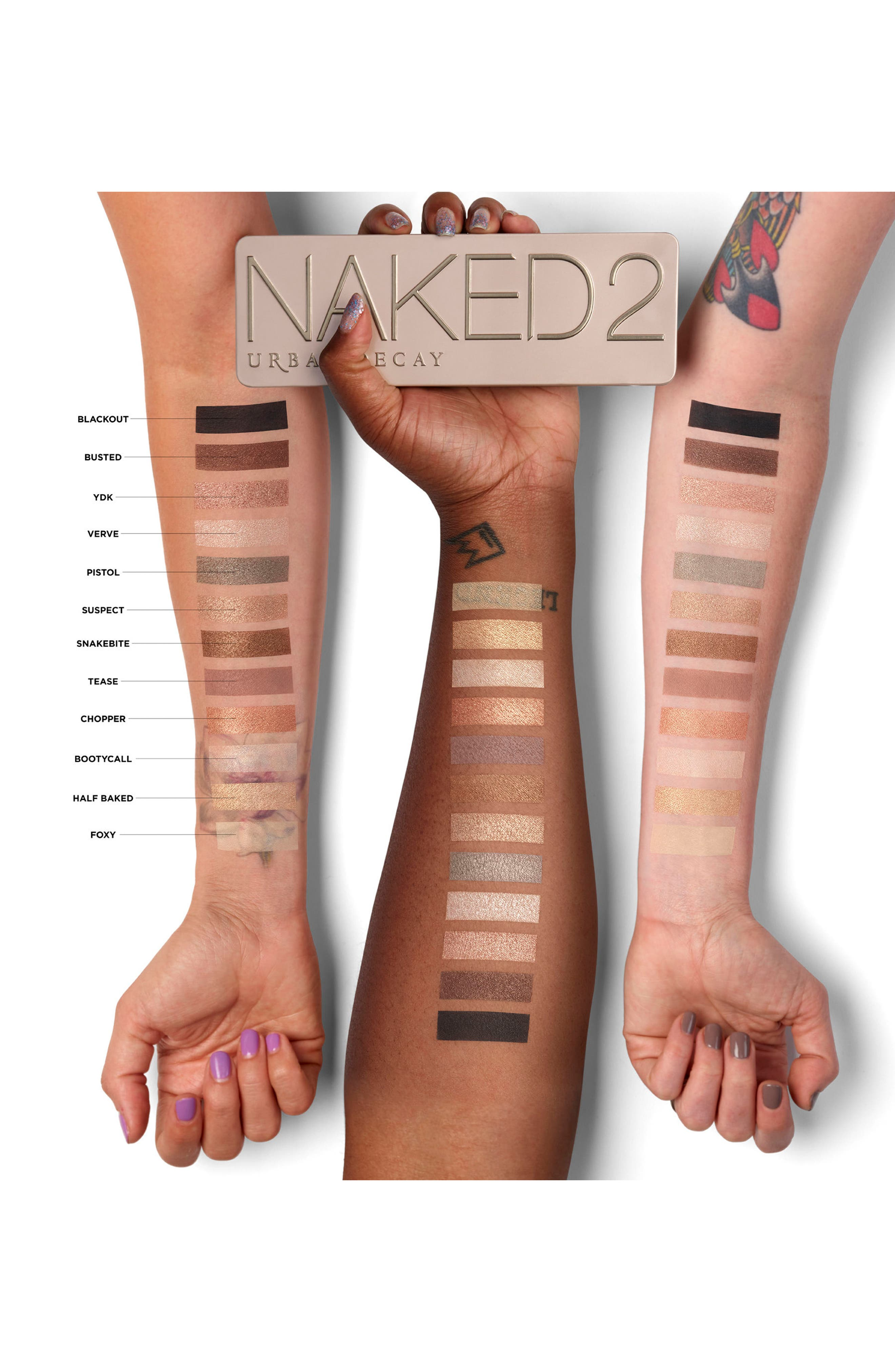 URBAN DECAY, Naked2 Palette, Alternate thumbnail 2, color, NAKED2 PALETTE