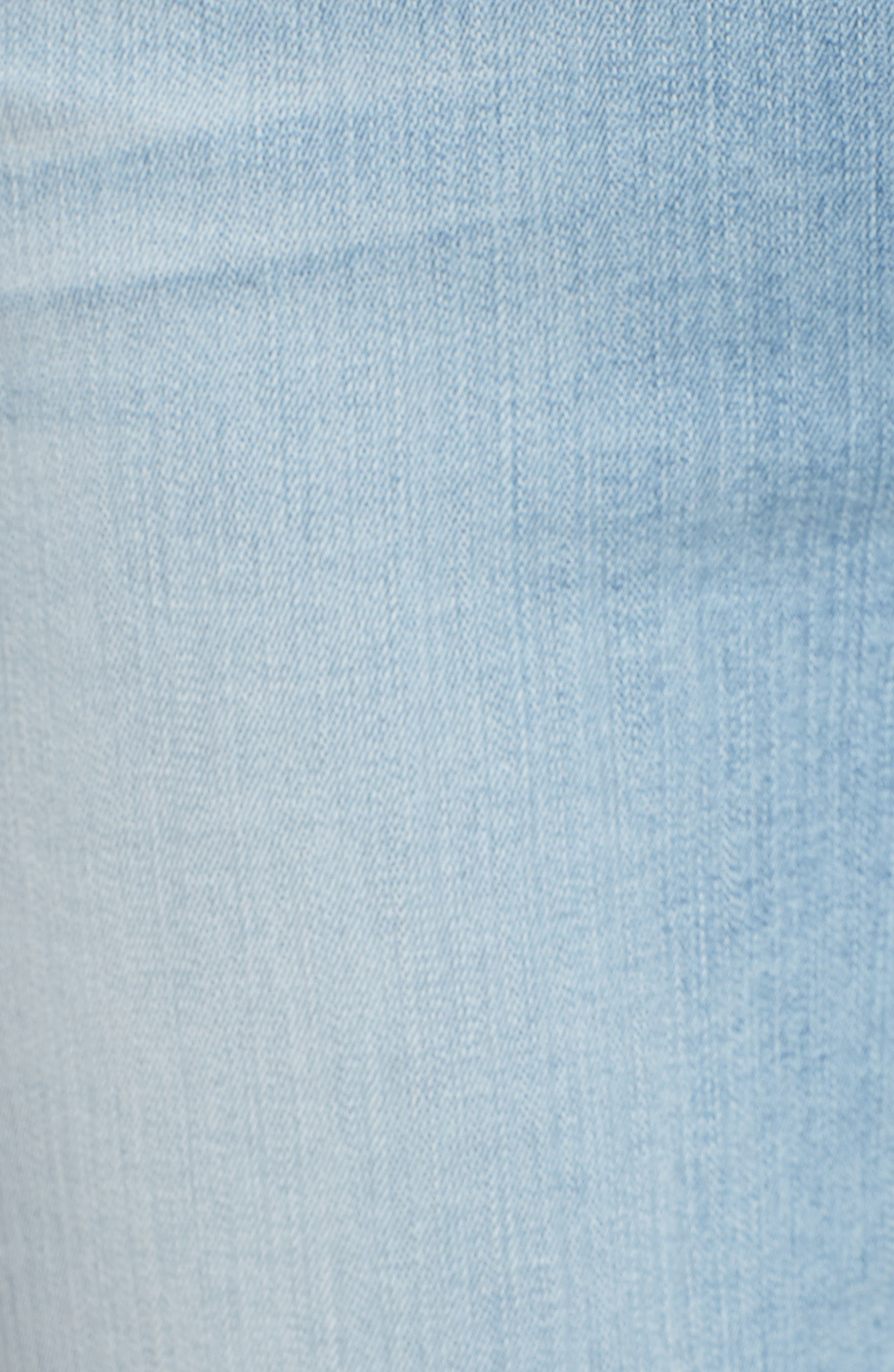 JEN7 BY 7 FOR ALL MANKIND, Embroidered Slim Boyfriend Jeans, Alternate thumbnail 6, color, RICHE TOUCH PLAYA VISTA