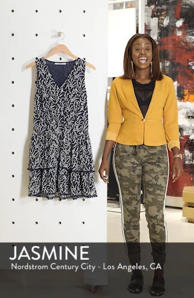 Tiered Floral Sleeveless Dress, sales video thumbnail