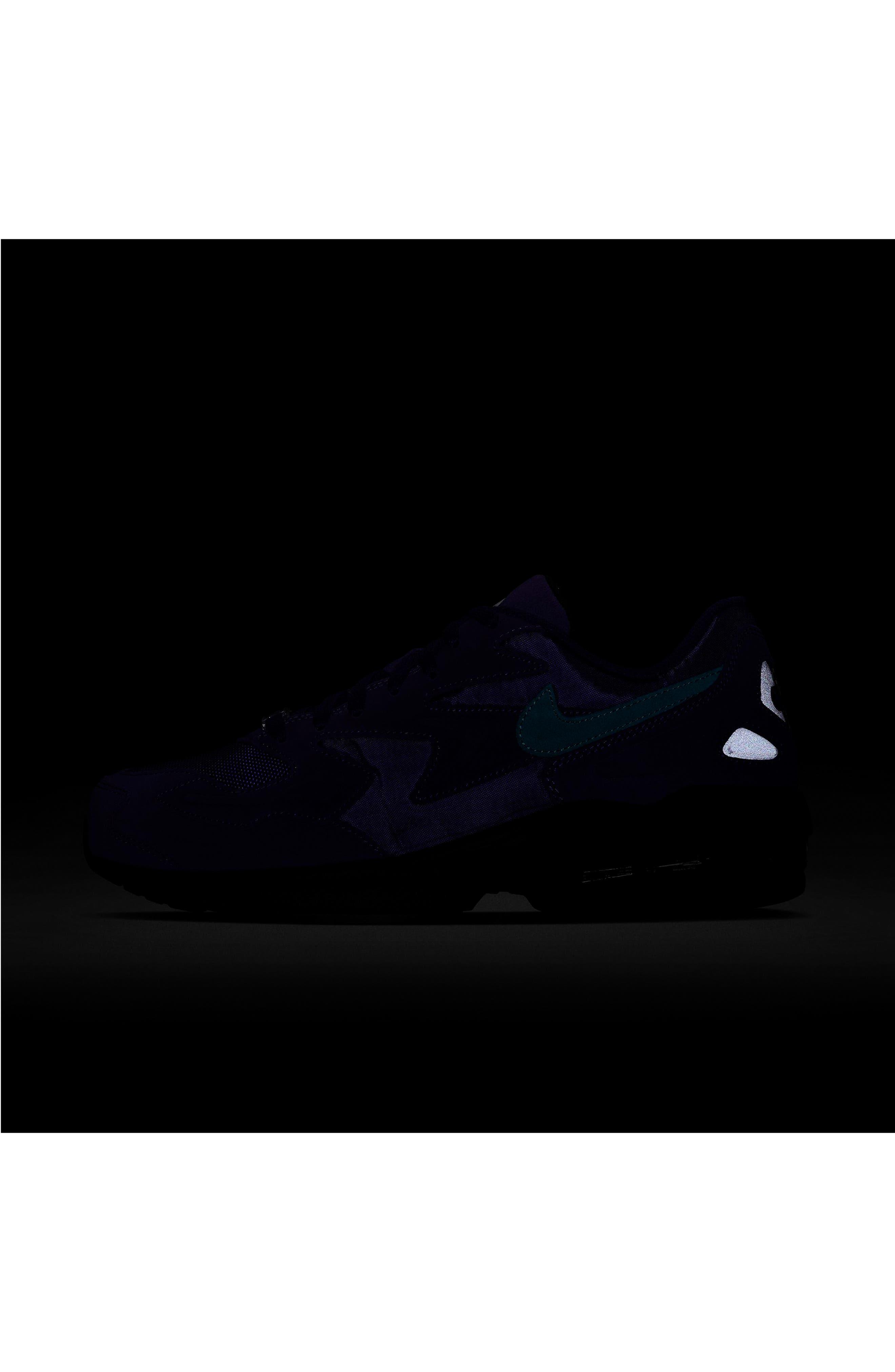 NIKE, Air Max2 Light Sneaker, Alternate thumbnail 7, color, PURPLE/ TEAL/ BLACK/ WHITE