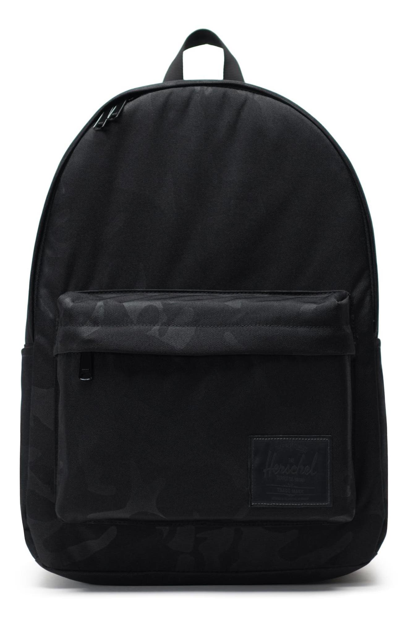 HERSCHEL SUPPLY CO. Classic XL Backpack, Main, color, BLACK/ TONAL CAMO