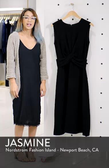 Sleeveless Cross Front Midi Dress, sales video thumbnail